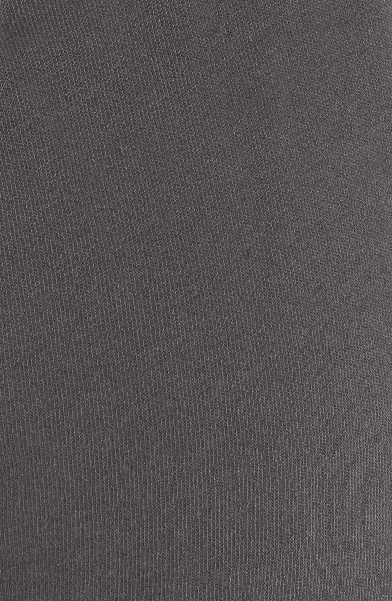 Rainbow Glitz Shorts,                             Alternate thumbnail 6, color,                             Pigment Black