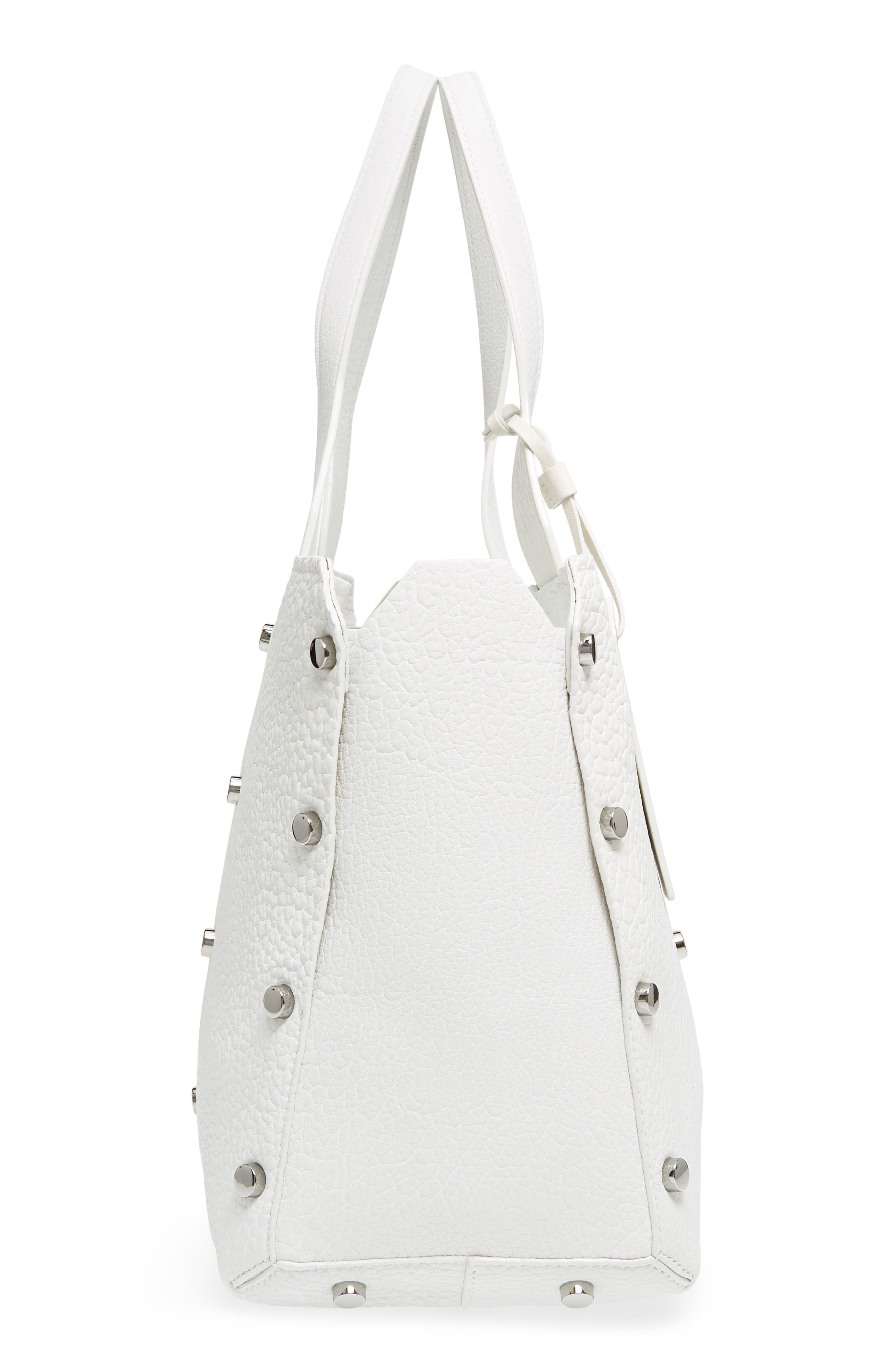 Alternate Image 5  - Jimmy Choo Lockett Leather Shopper