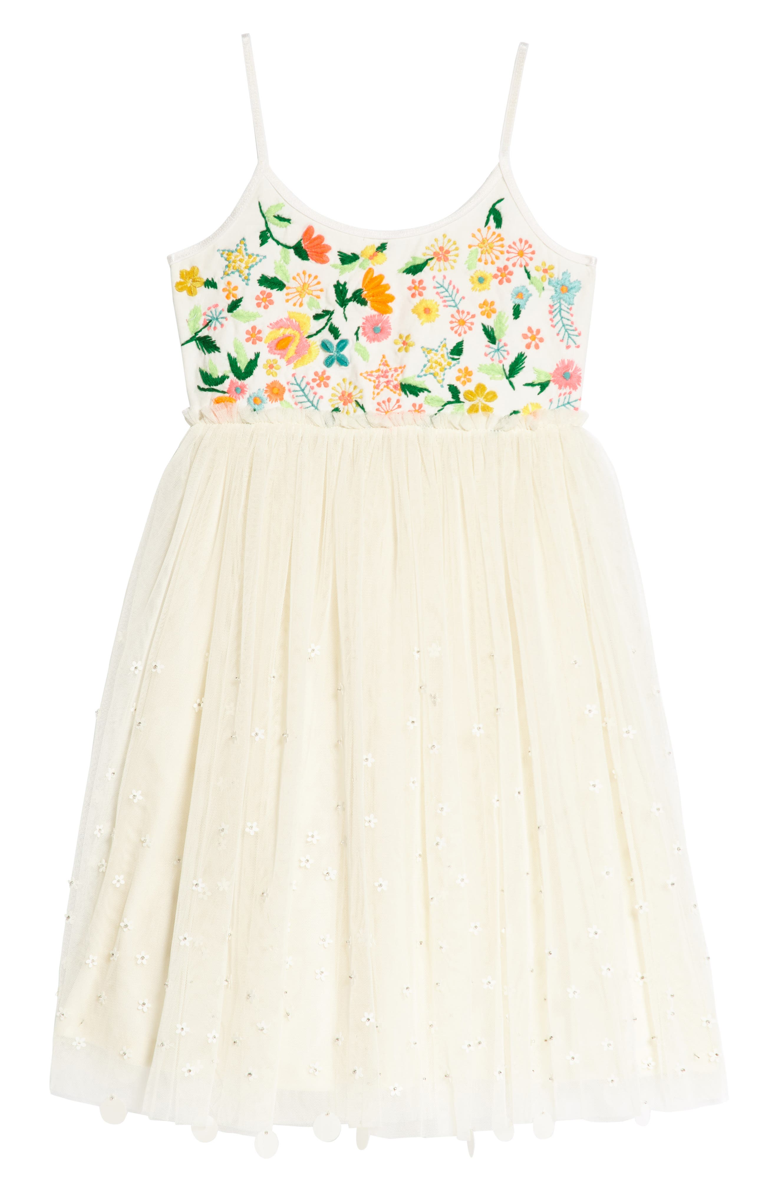 Florence Dress,                         Main,                         color, Ivory