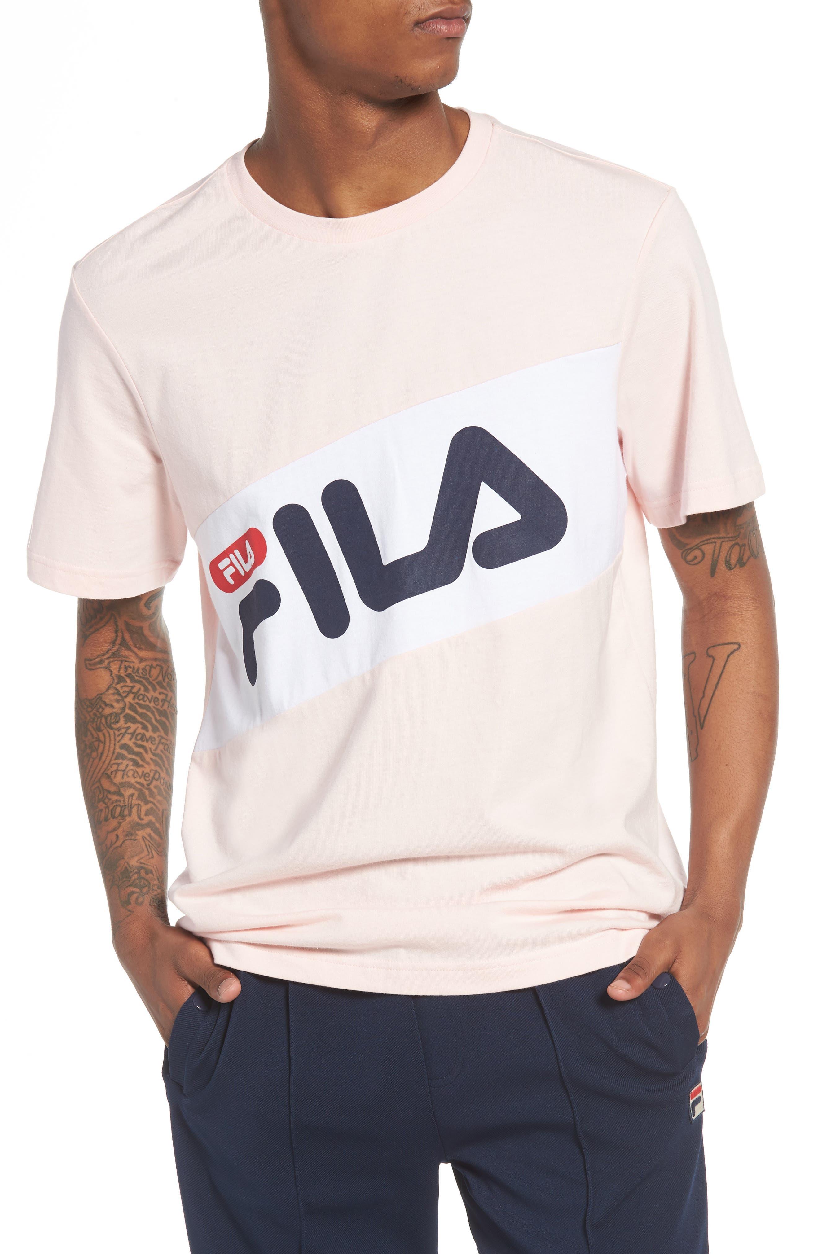 FILA Diagonal Logo T-Shirt