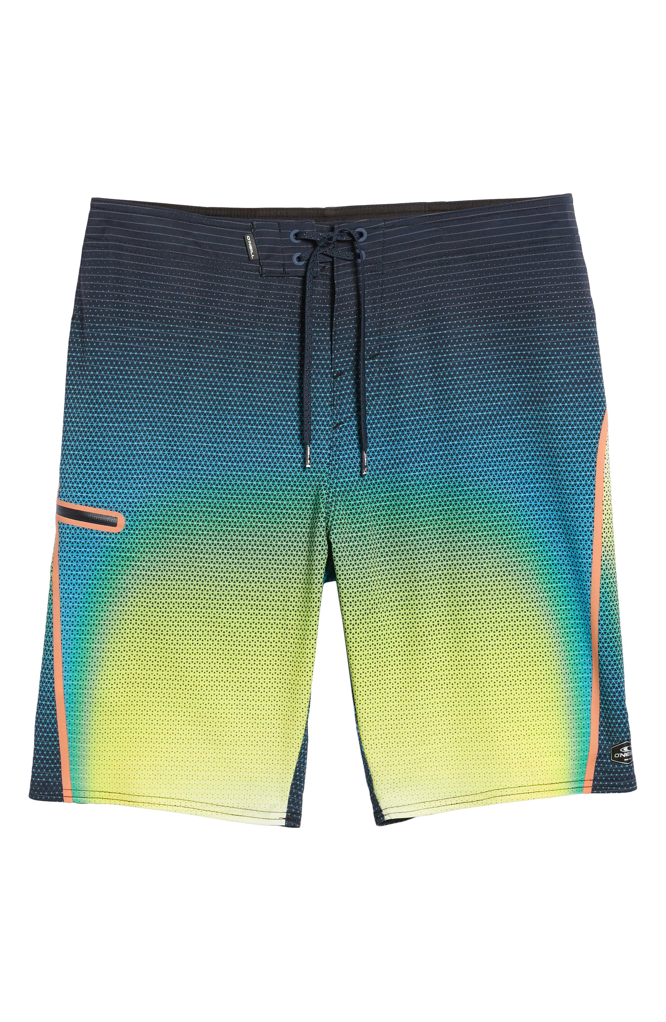 Hyperfreak Prizma Board Shorts,                             Alternate thumbnail 6, color,                             Ocean