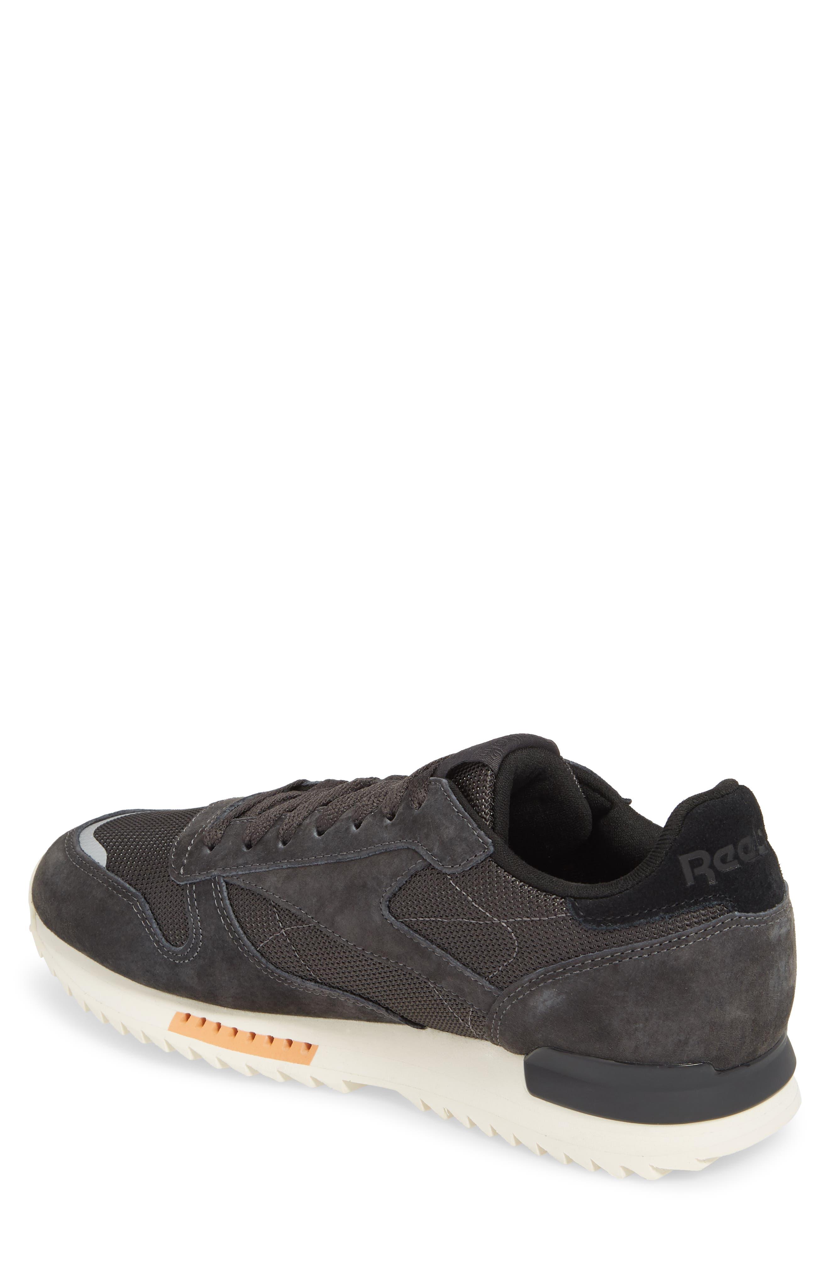 Classic Leather Ripple Sneaker,                             Alternate thumbnail 2, color,                             Coal/ Grey/ White/ Black/ Dust