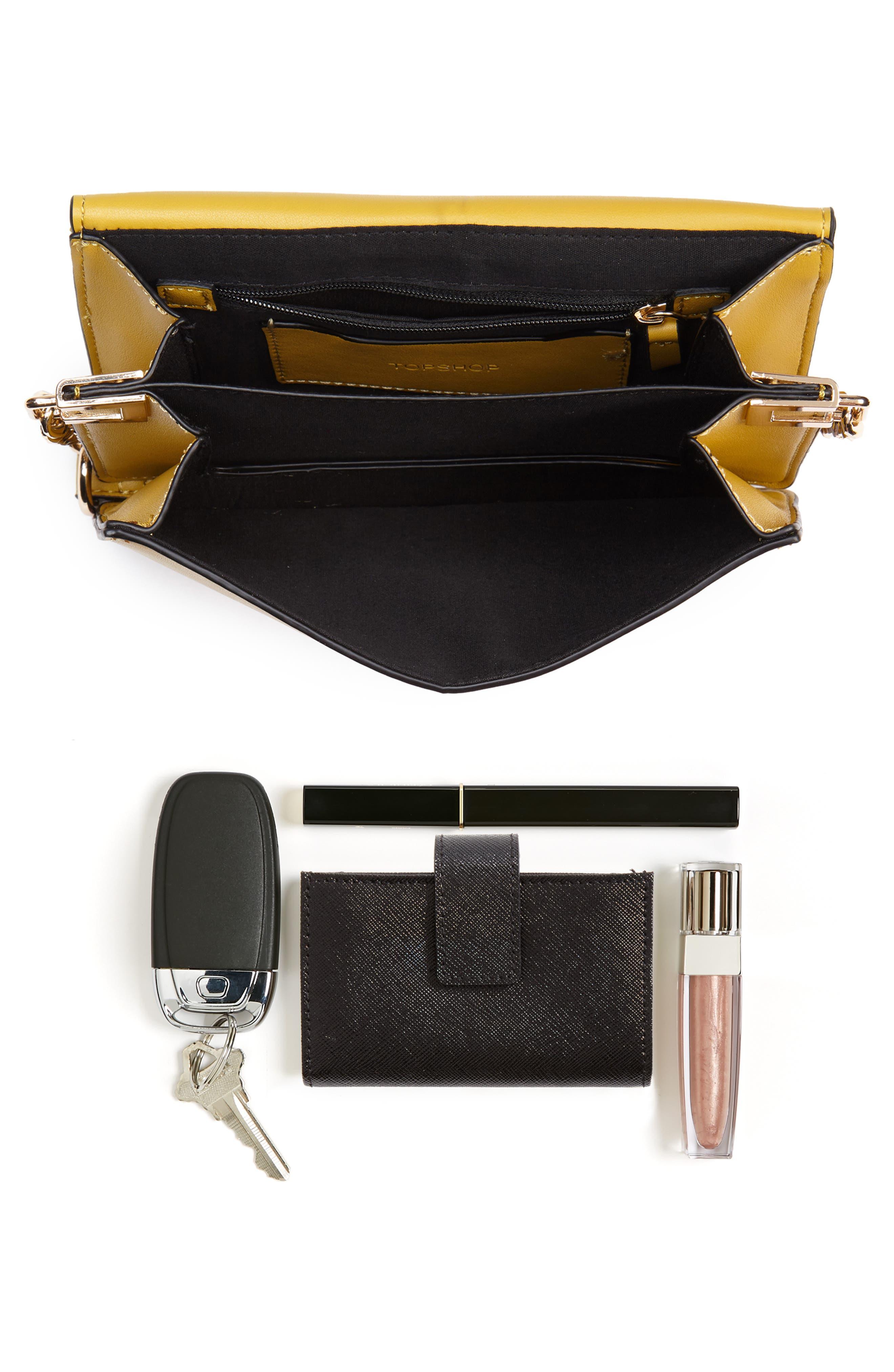 Seline Faux Leather Crossbody Bag,                             Alternate thumbnail 10, color,
