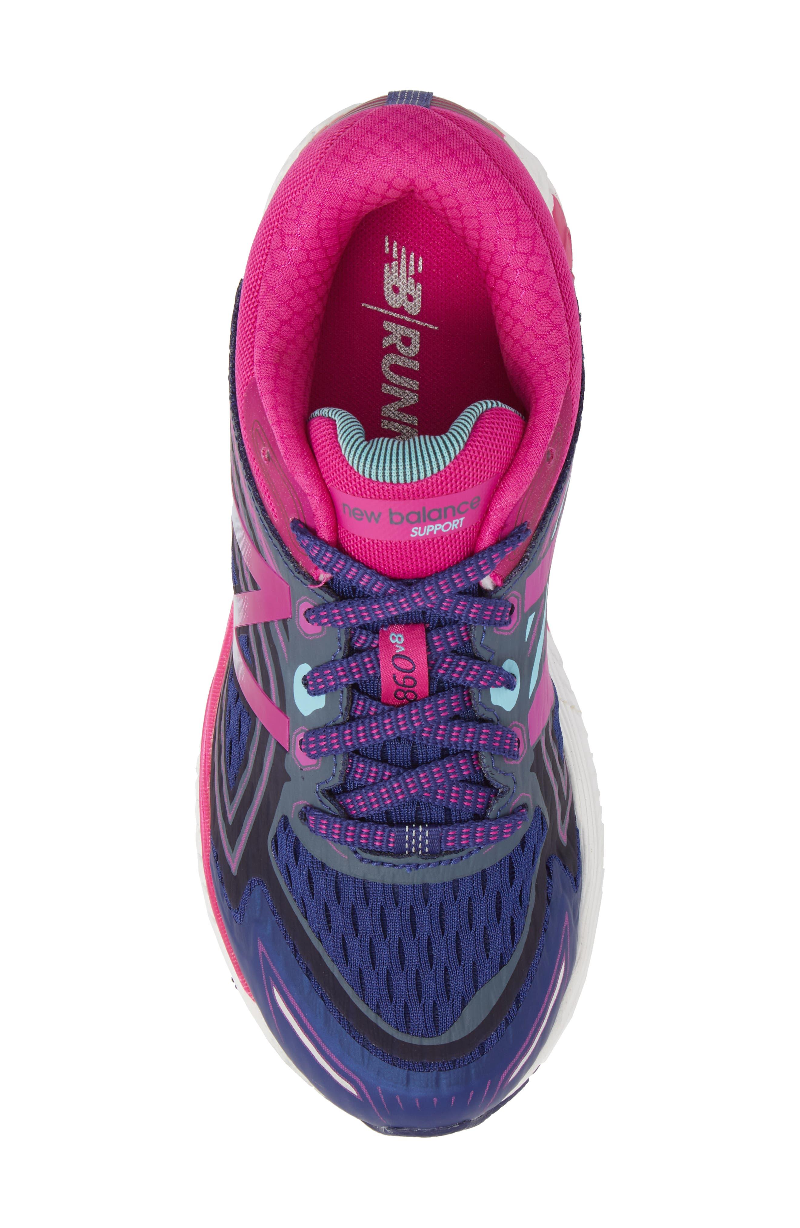 860v8 Sneaker,                             Alternate thumbnail 5, color,                             Navy
