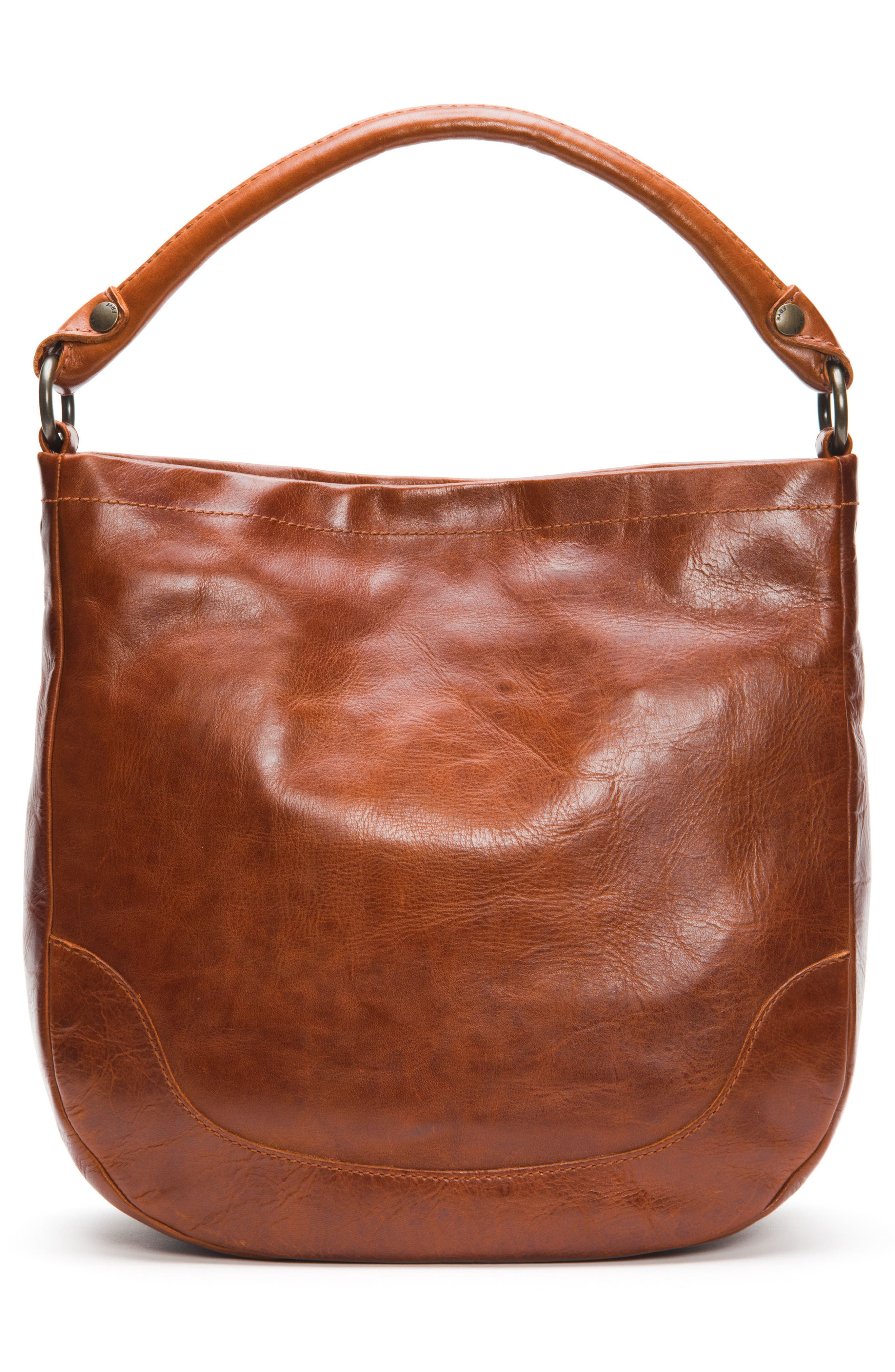 Melissa Leather Hobo,                             Alternate thumbnail 6, color,                             Red Clay