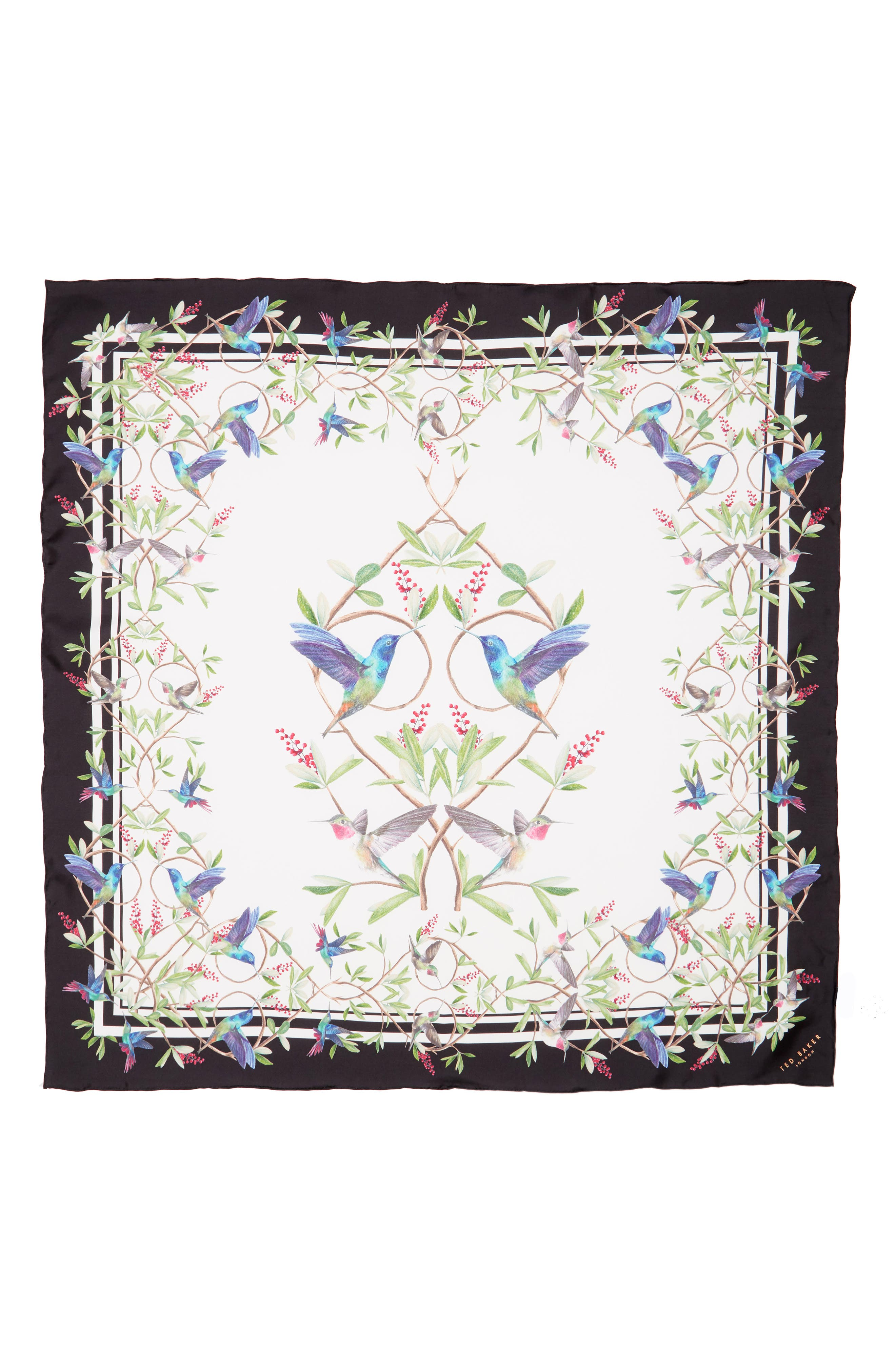 Alternate Image 2  - Ted Baker London Highgrove Square Silk Scarf