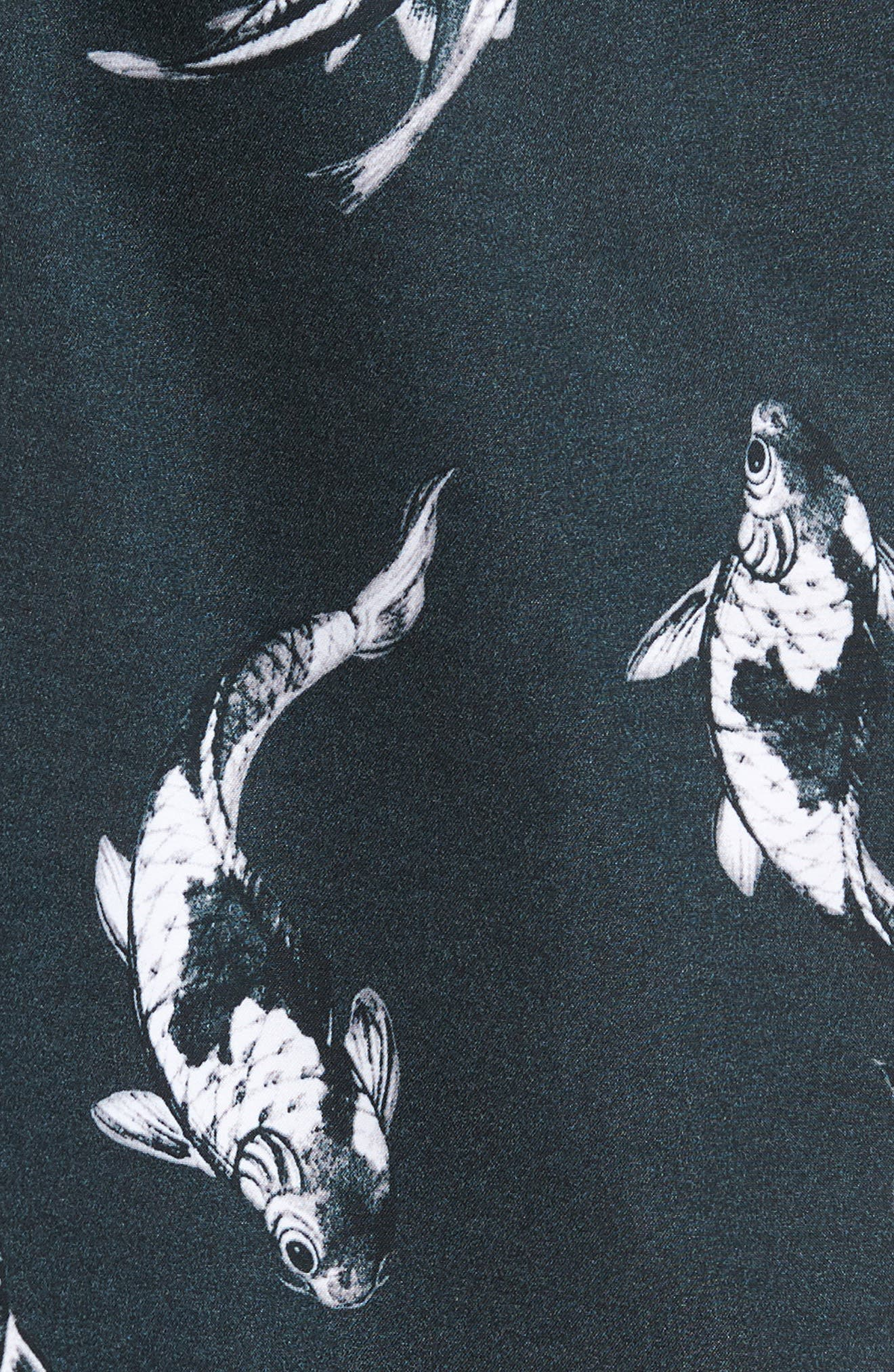 Baja Kois Are Back in Town Board Shorts,                             Alternate thumbnail 5, color,                             Black