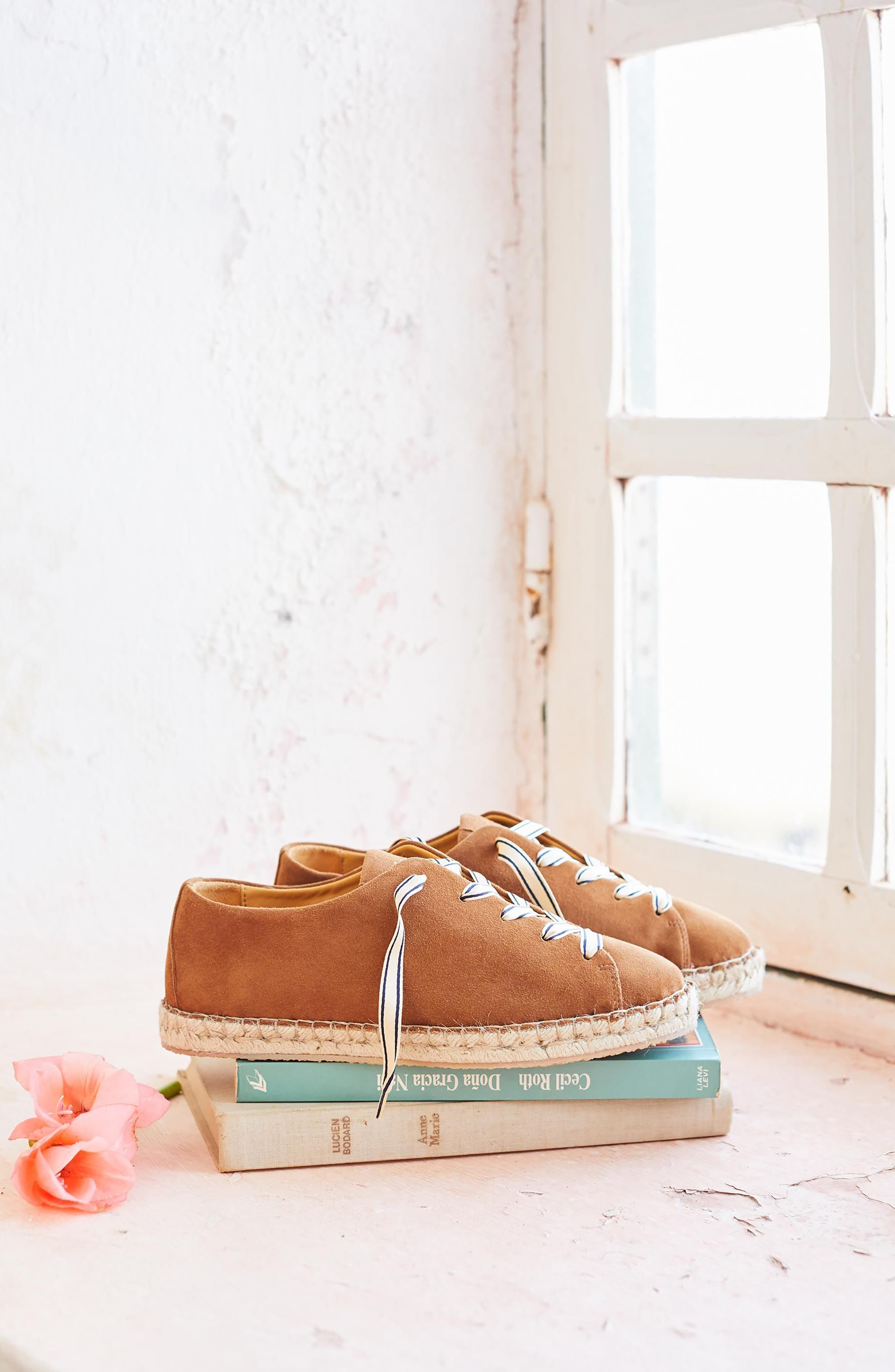 Julie Espadrille Sneaker,                             Alternate thumbnail 7, color,