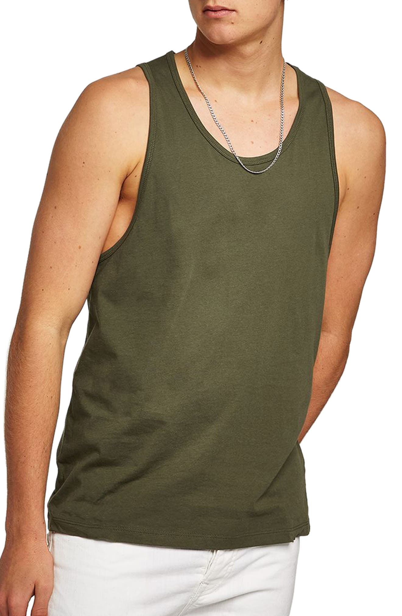 Topman Slim Fit Tank