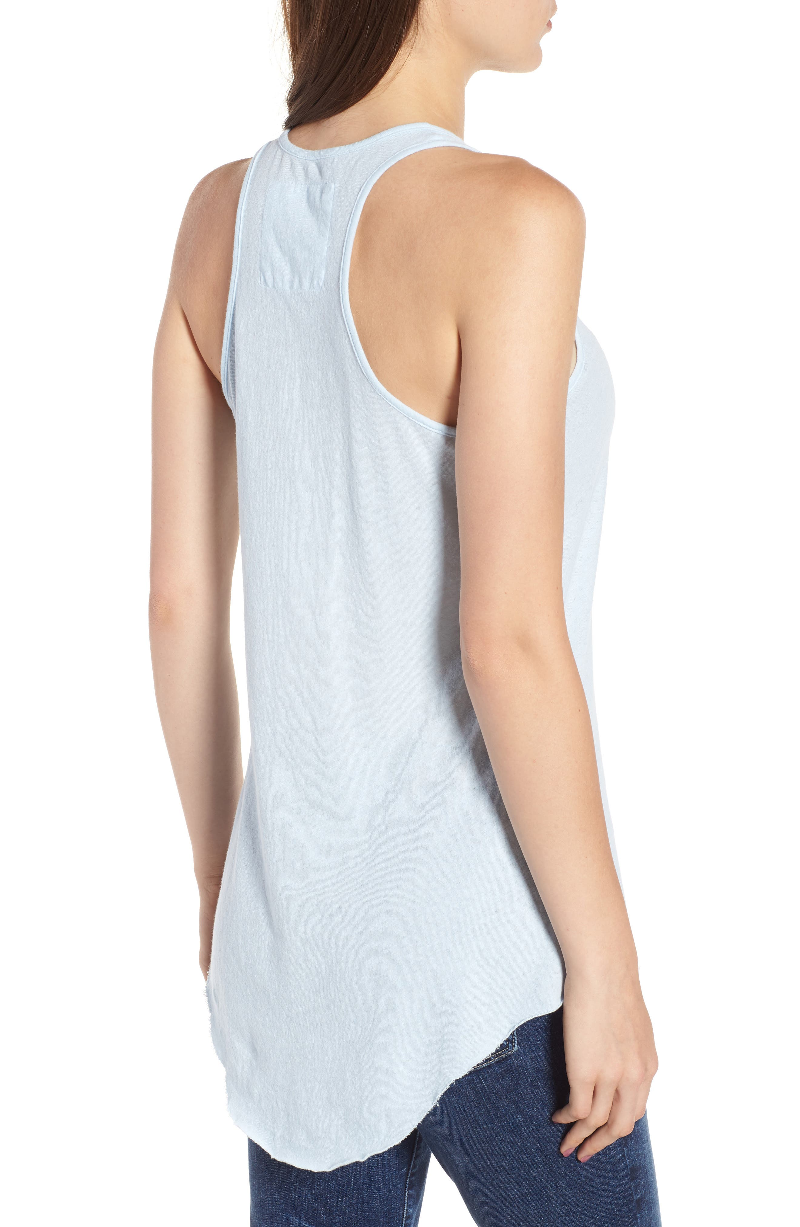 Base Layer Tank,                             Alternate thumbnail 2, color,                             Mali-Blue