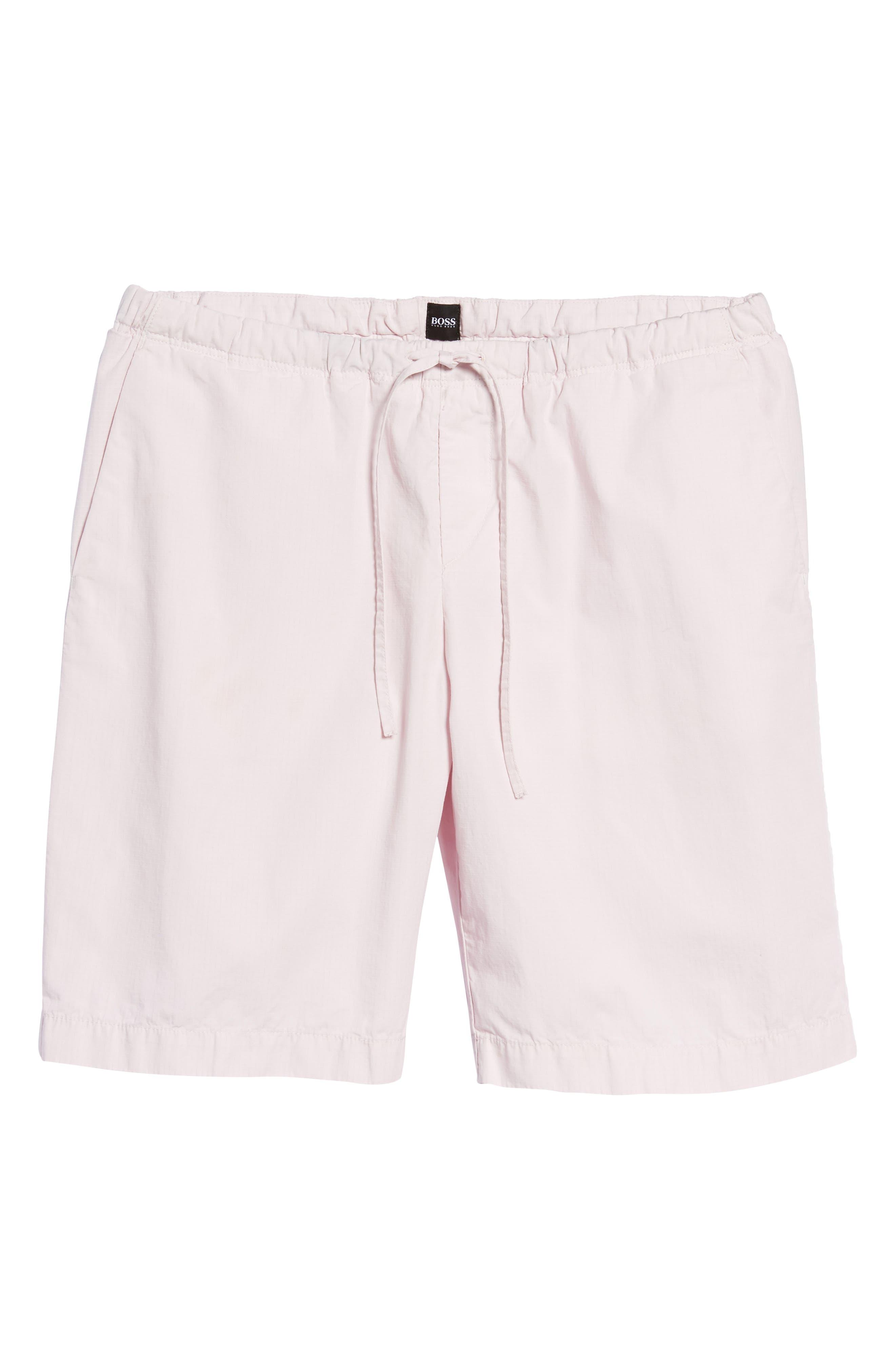 Alternate Image 6  - BOSS Passeo Cotton Shorts