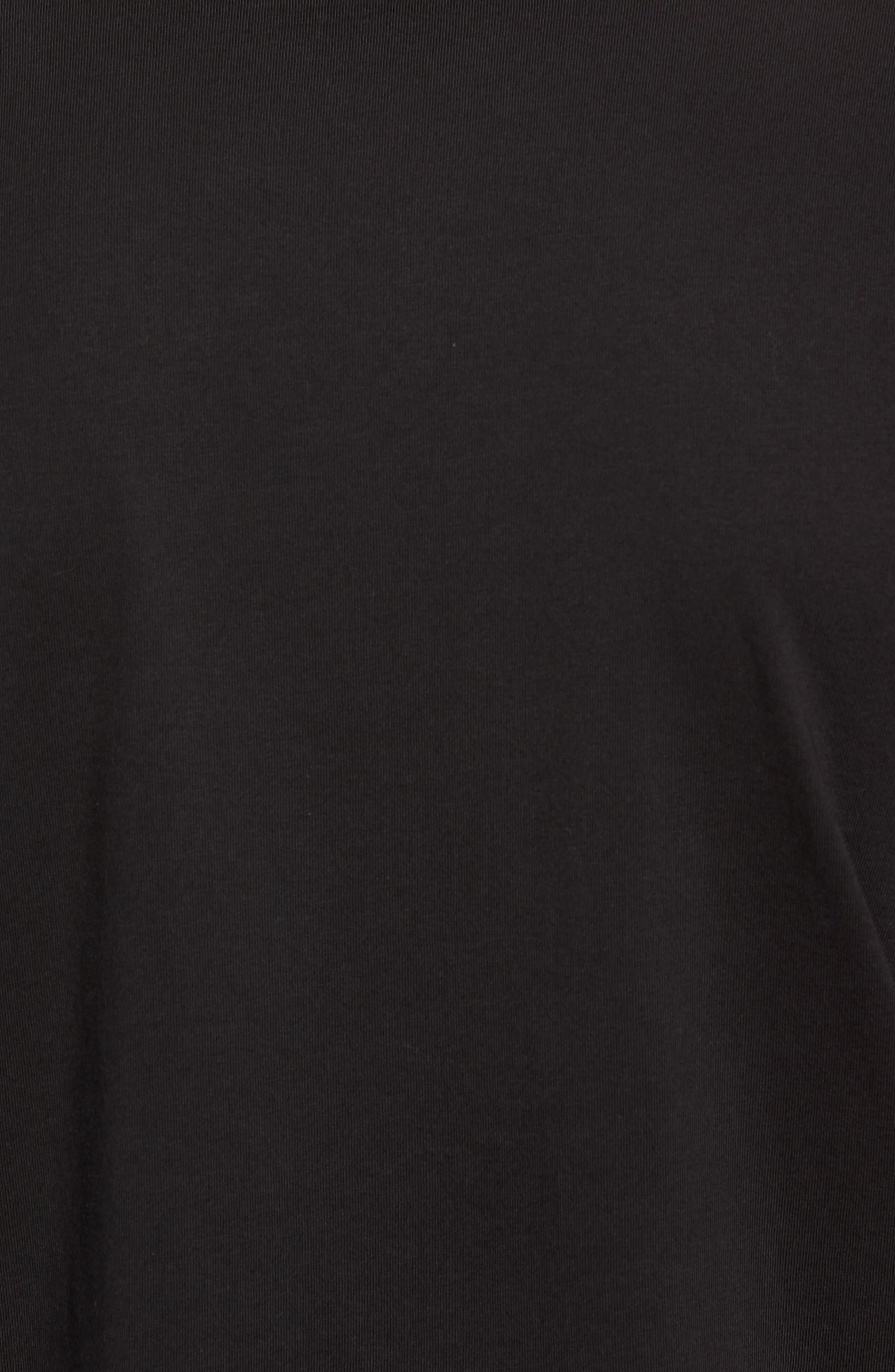 Graphic T-Shirt,                             Alternate thumbnail 5, color,                             Black