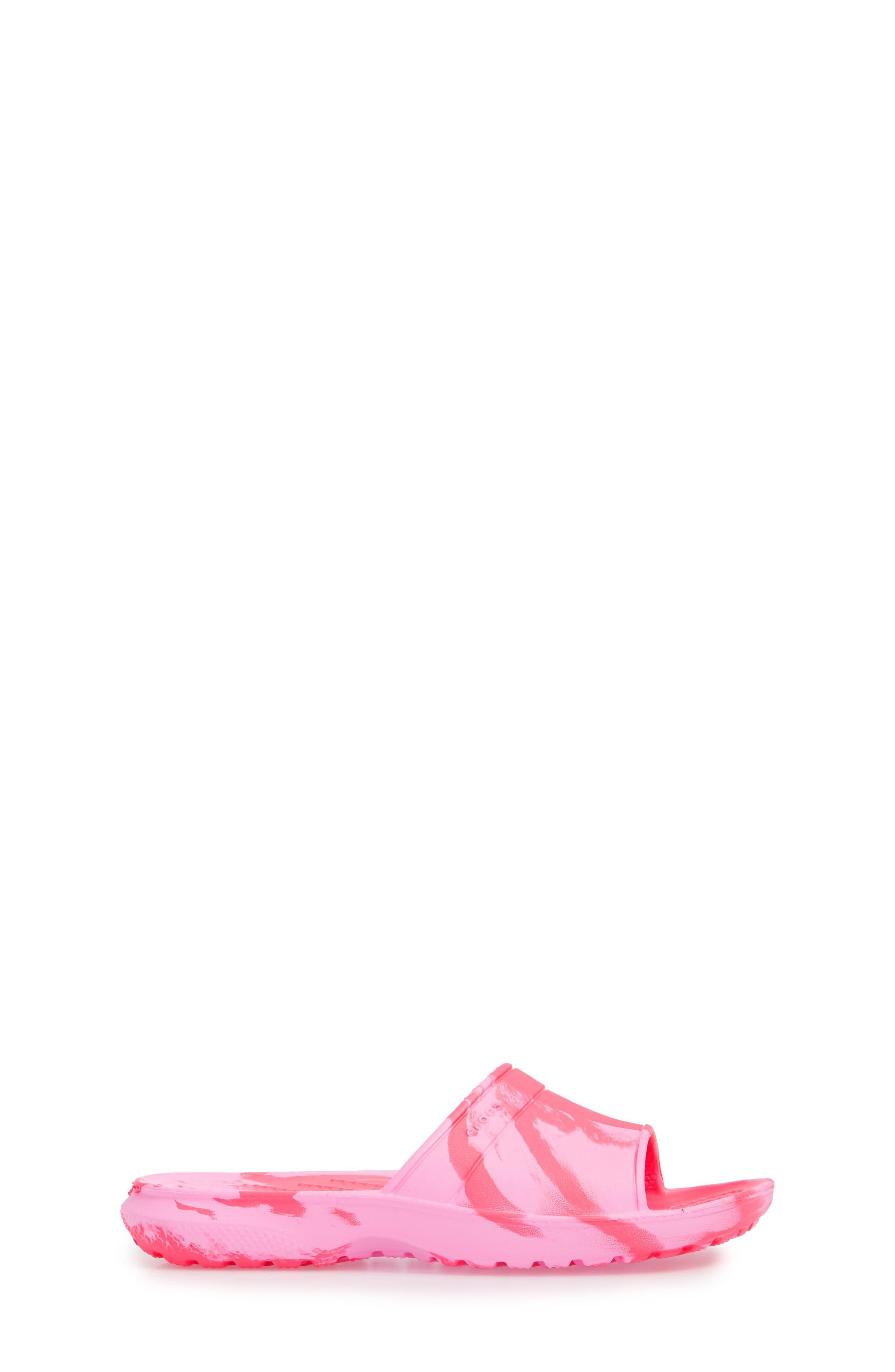 Classic Swirl Slide,                             Alternate thumbnail 3, color,                             Paradise Pink