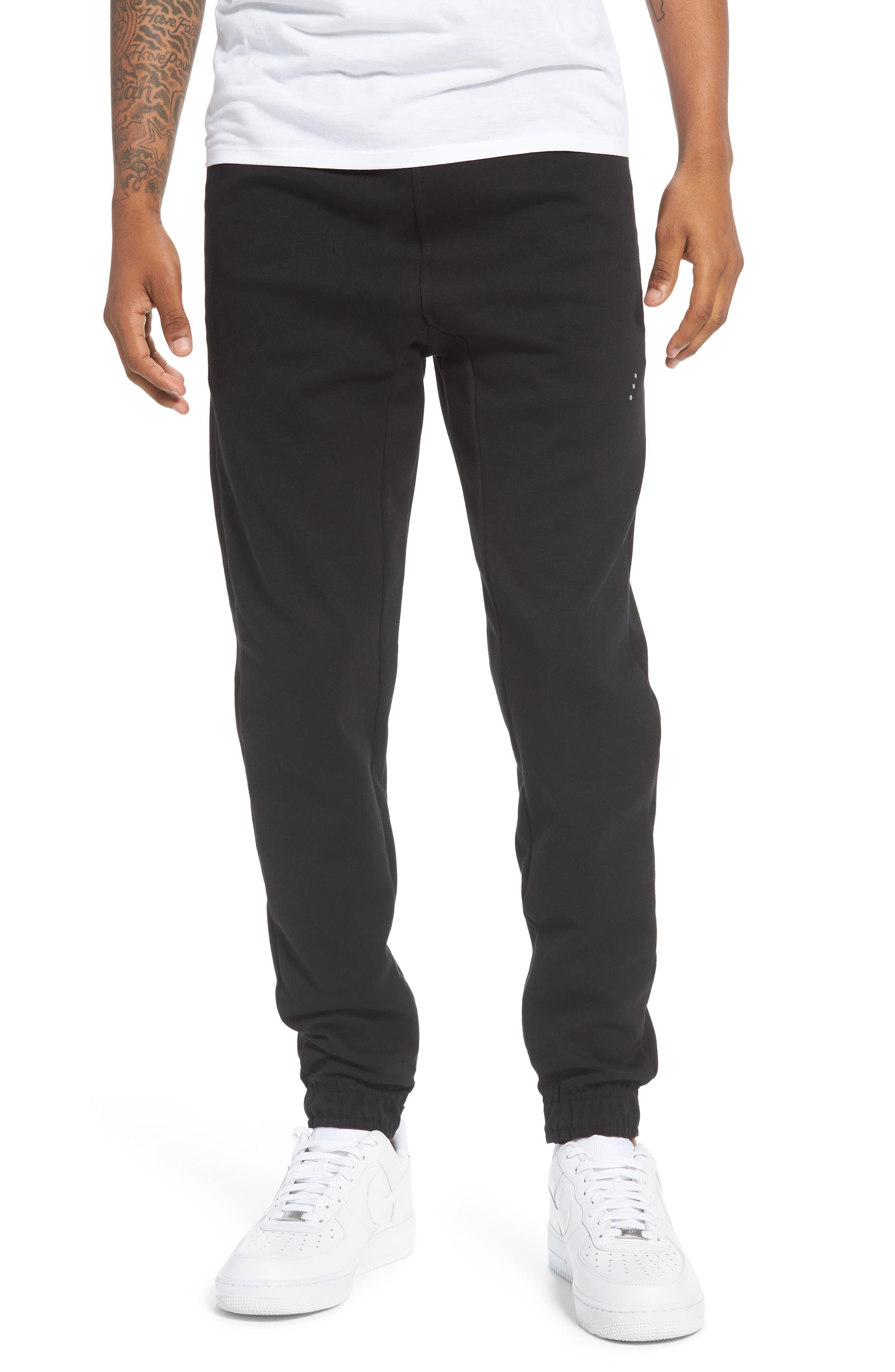 Tech Track Pants,                         Main,                         color, Black