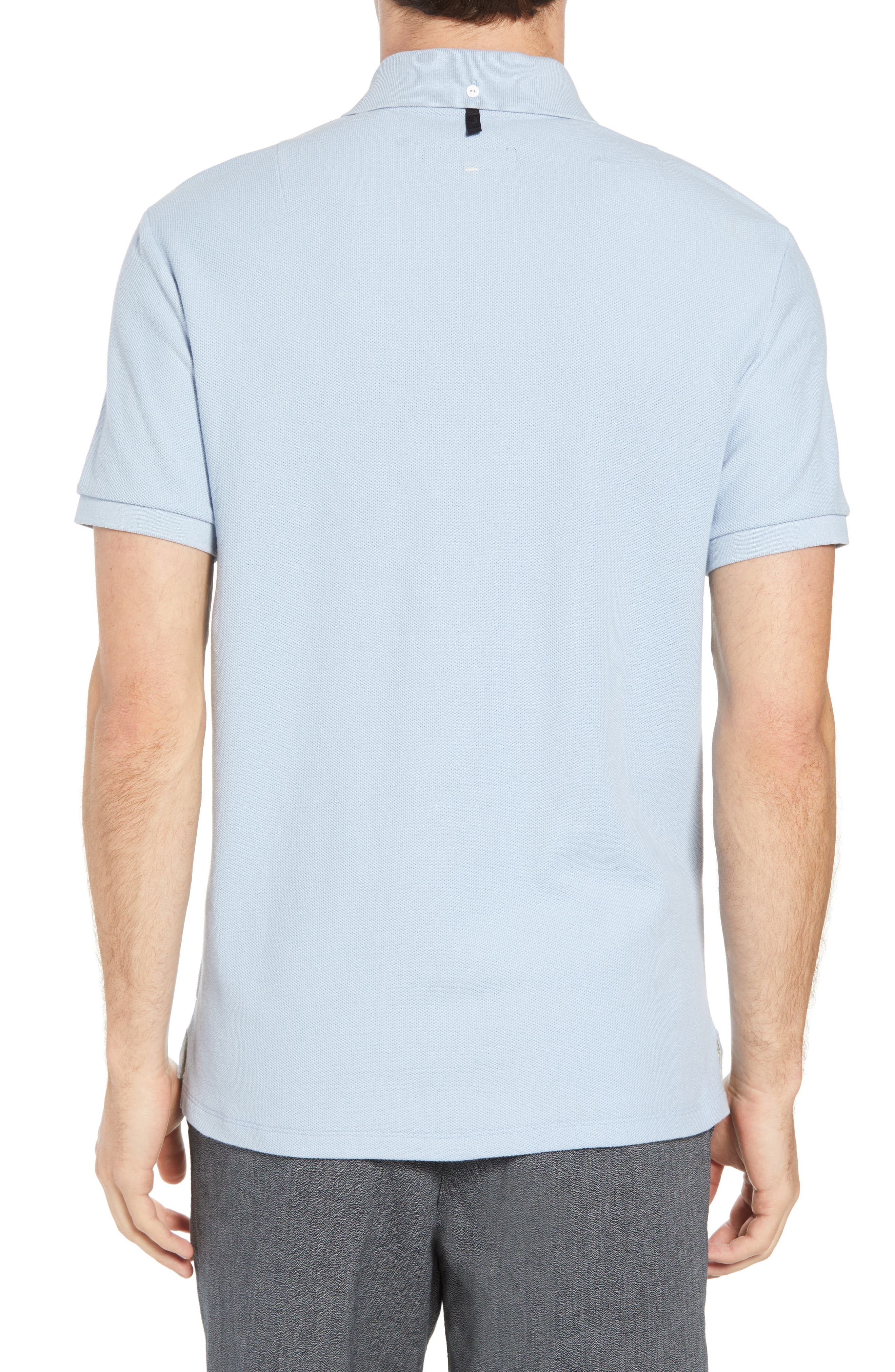 Regular Fit Polo,                             Alternate thumbnail 2, color,                             Pale Perwnkl