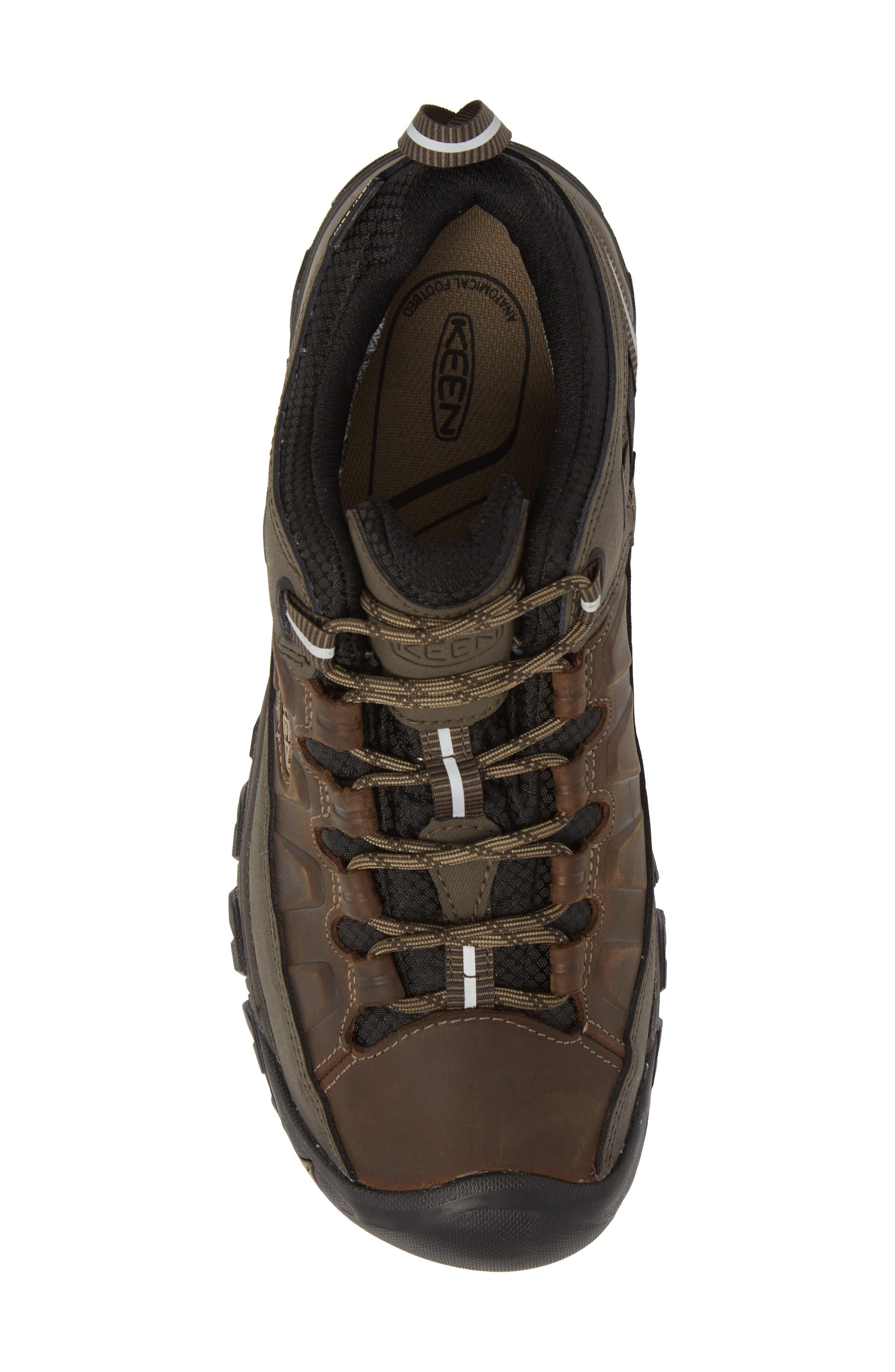 Targhee III Waterproof Hiking Shoe,                             Alternate thumbnail 5, color,                             Bungee Cord/Black