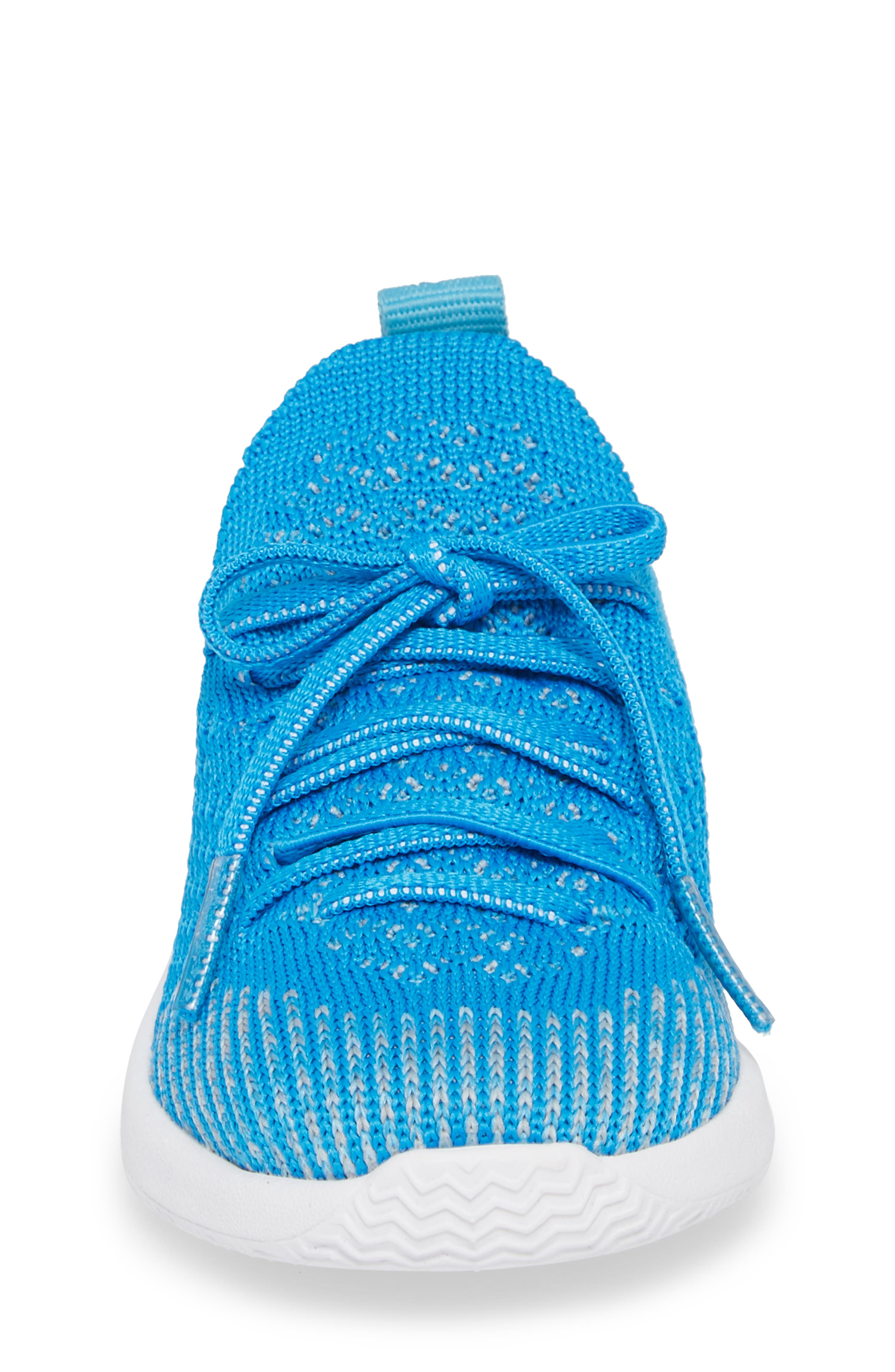 AP Mercury LiteKnit Sneaker,                             Alternate thumbnail 4, color,                             Wave Blue/ Shell White
