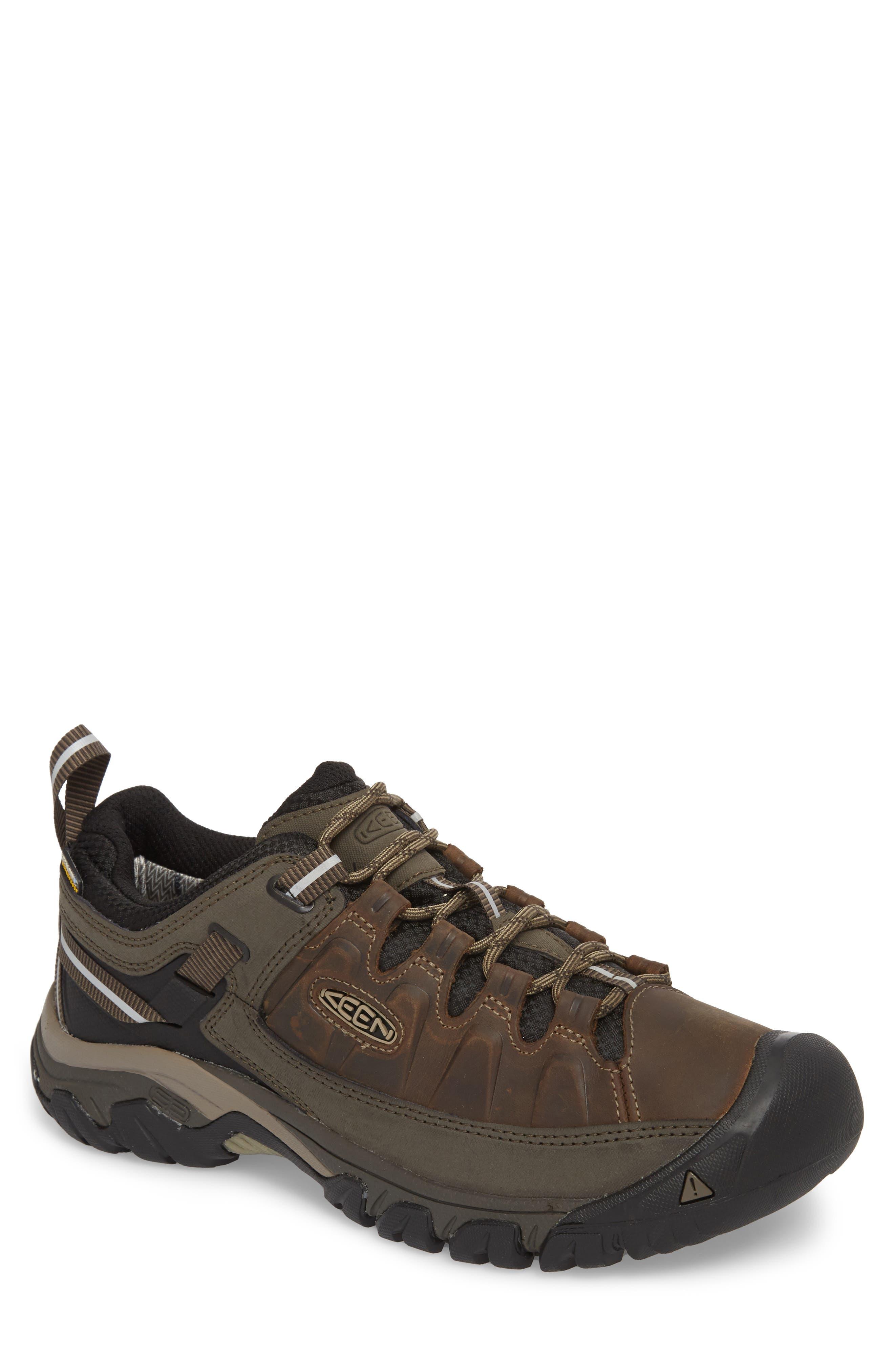 Targhee III Waterproof Hiking Shoe,                         Main,                         color, Bungee Cord/Black
