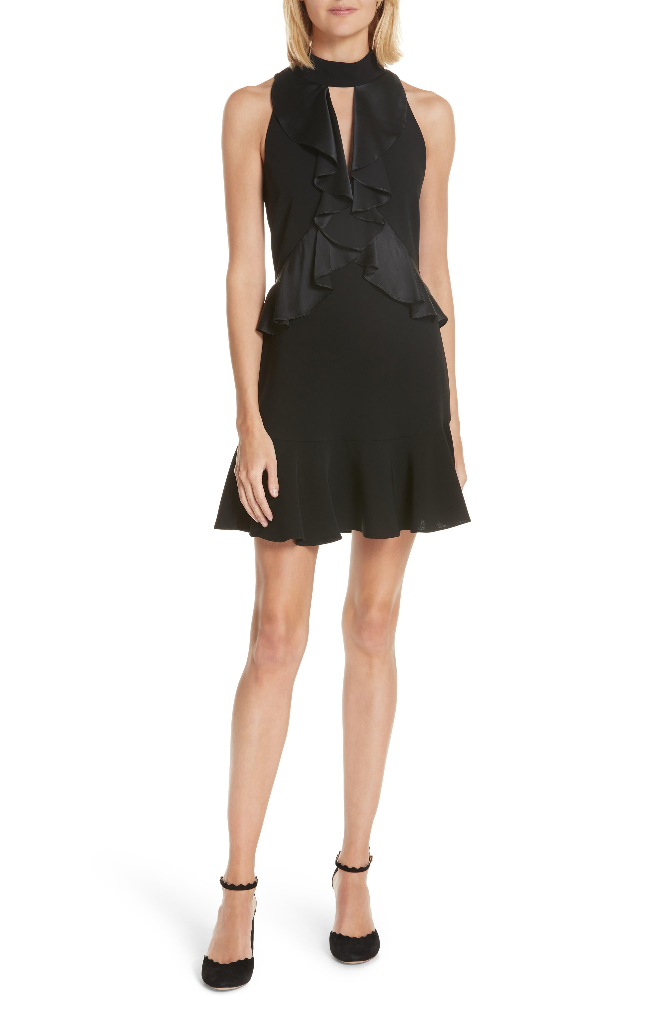 Alternate Image 1 Selected - Cinq à Sept Maxie Ruffle Dress