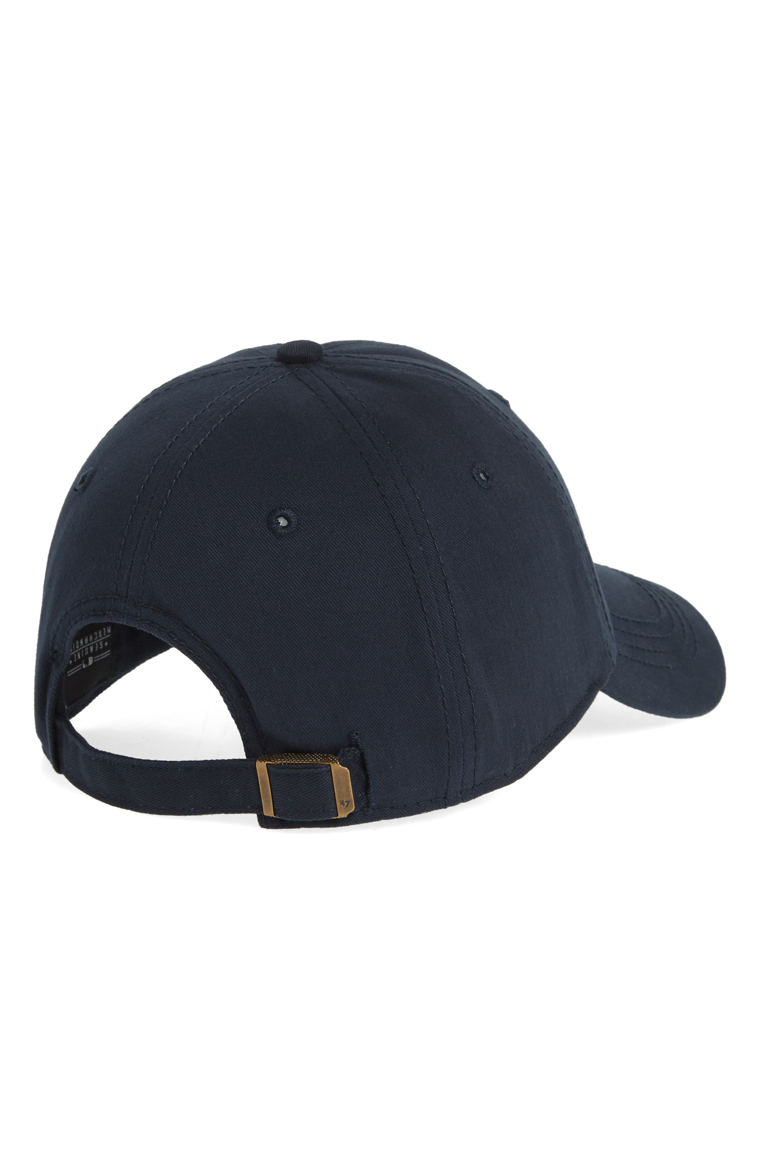 Miata Clean-Up New York Yankees Baseball Cap,                             Alternate thumbnail 2, color,                             Navy