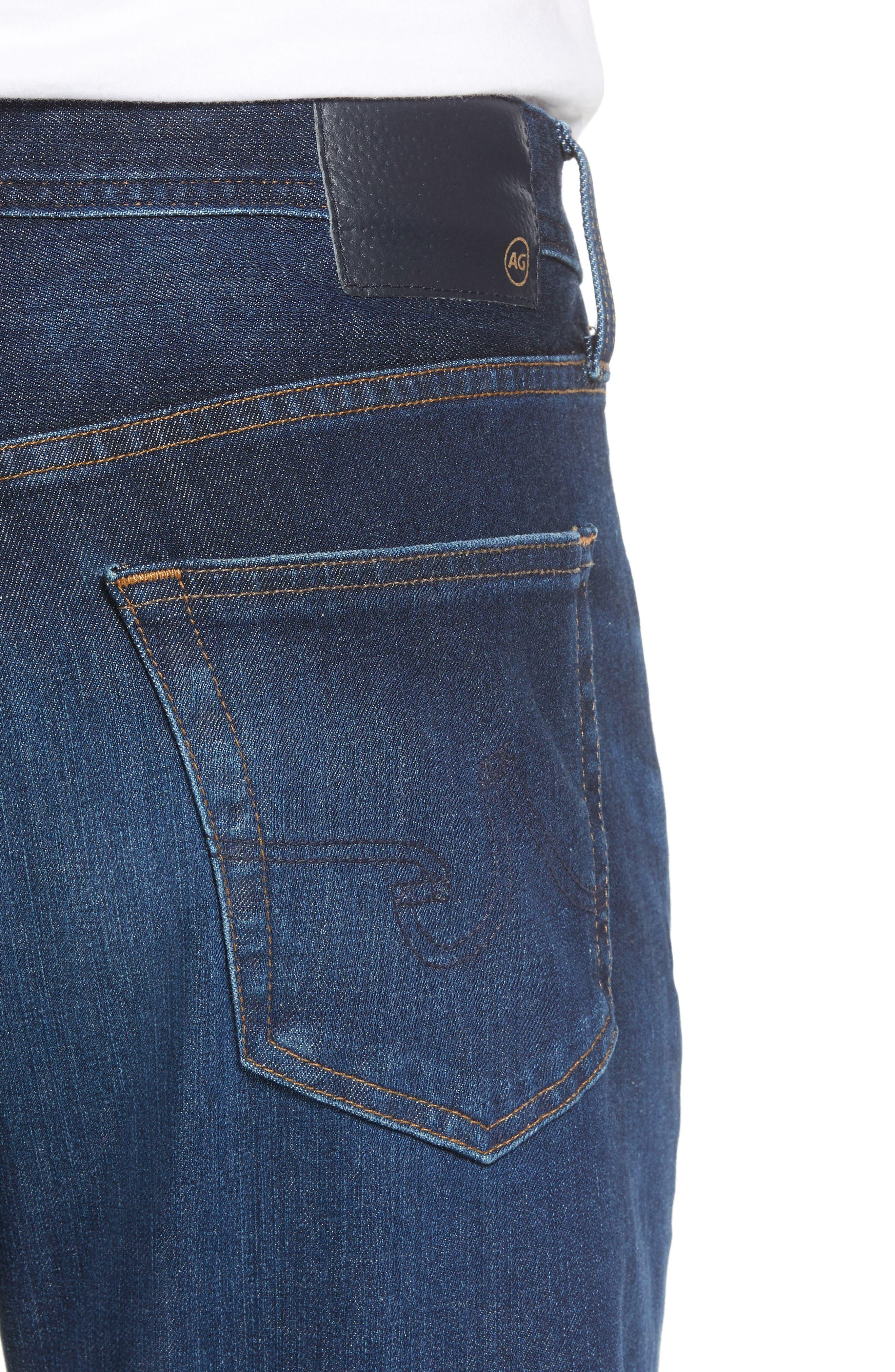 Graduate Slim Straight Fit Jeans,                             Alternate thumbnail 4, color,                             5 Years Lost Coast