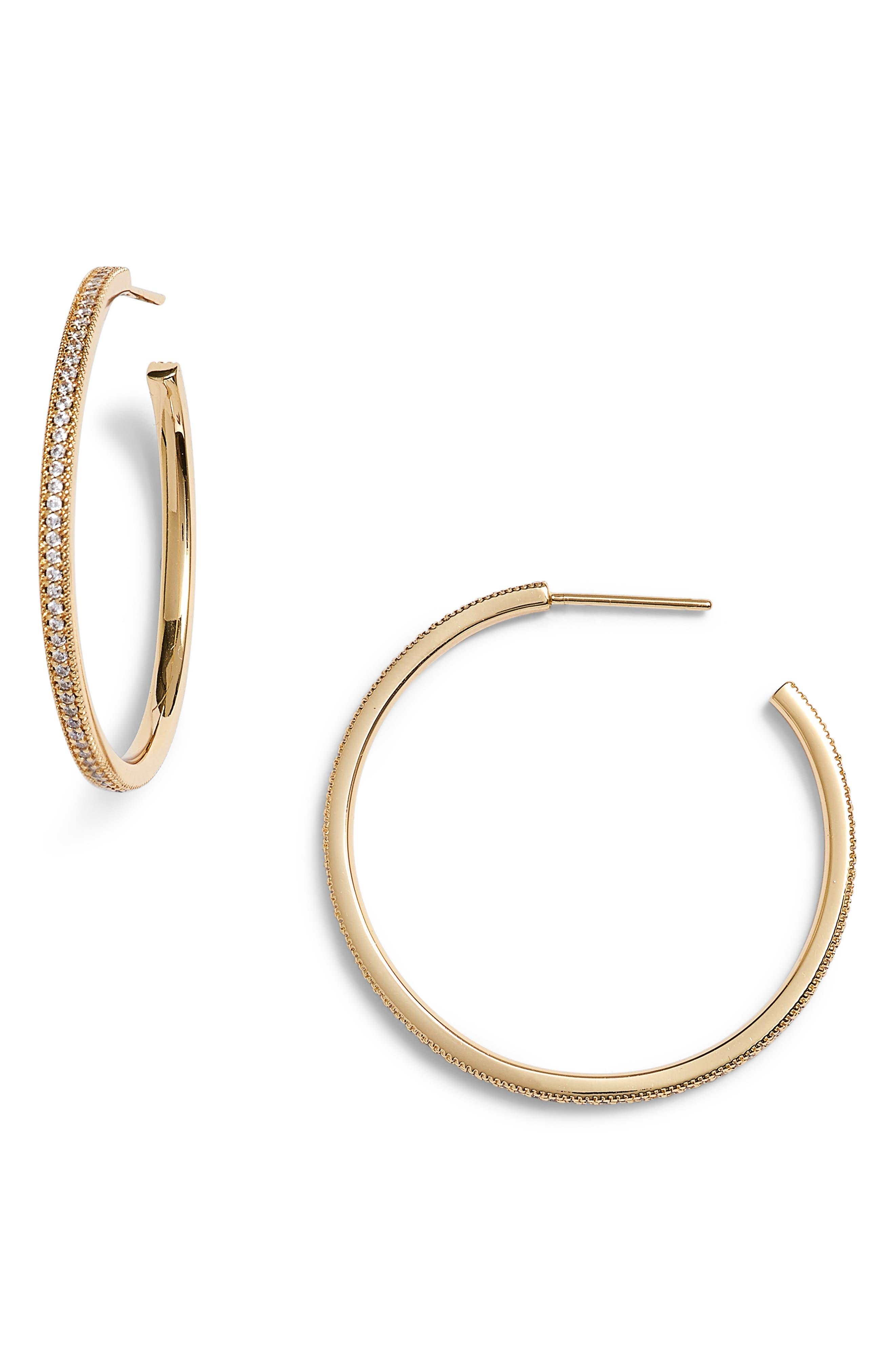 Lulu DK x We Wore What Small Hoop Earrings