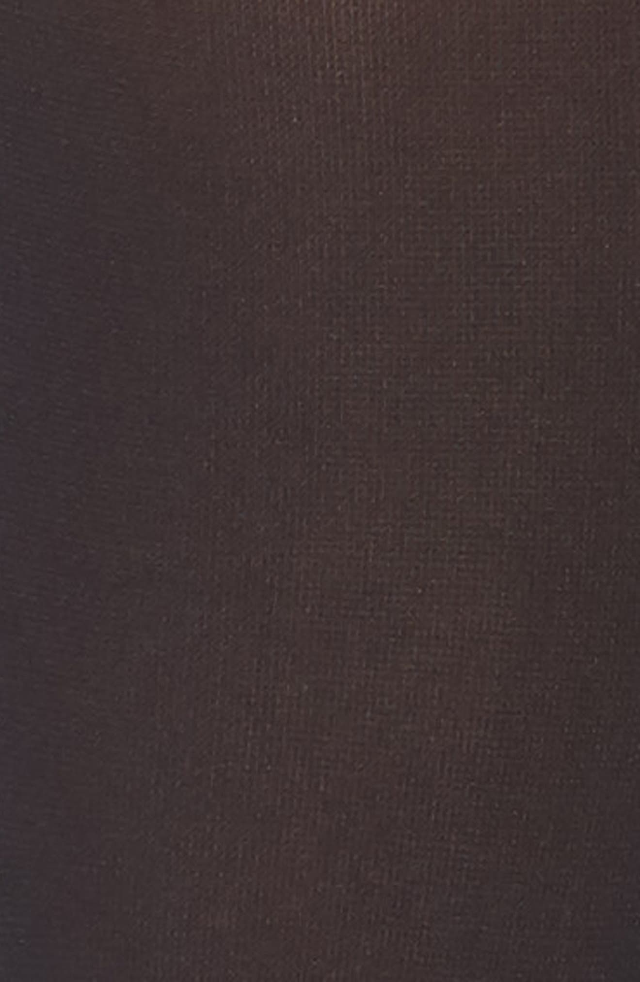 Ingrid Opaque Knee Highs,                             Alternate thumbnail 2, color,                             Black