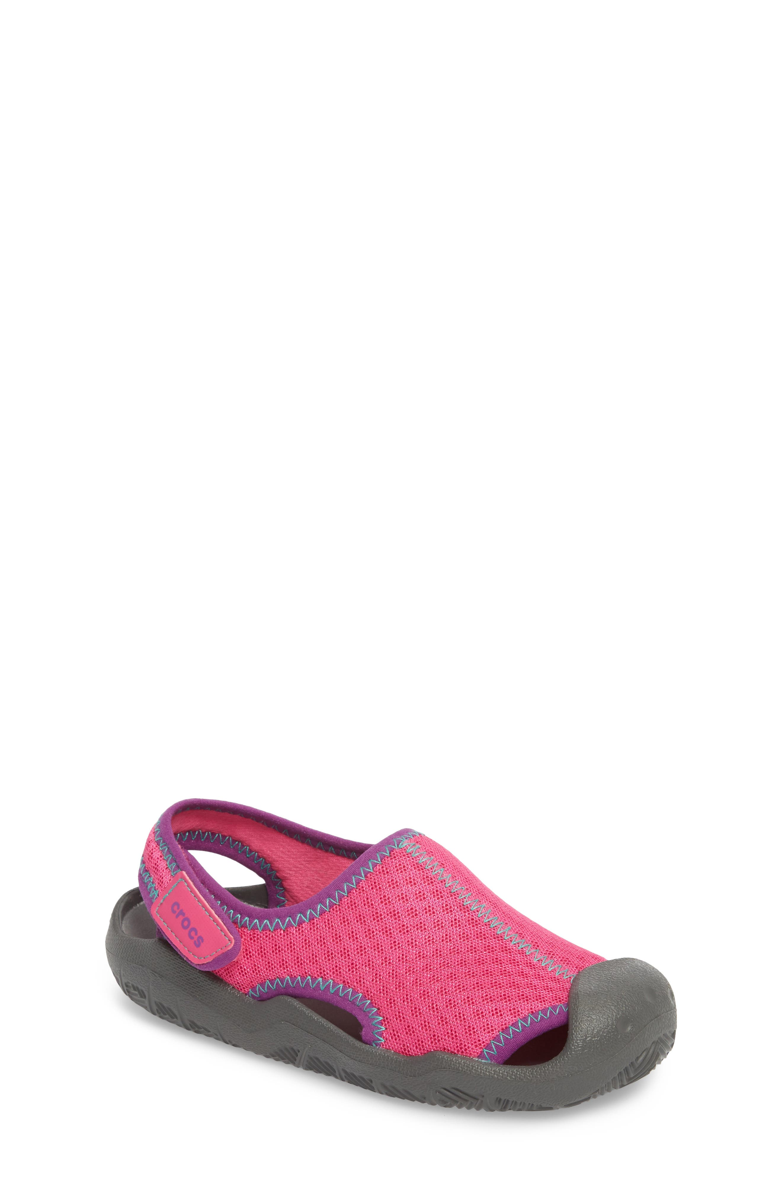 Swiftwater Sandal,                             Main thumbnail 1, color,                             Pink