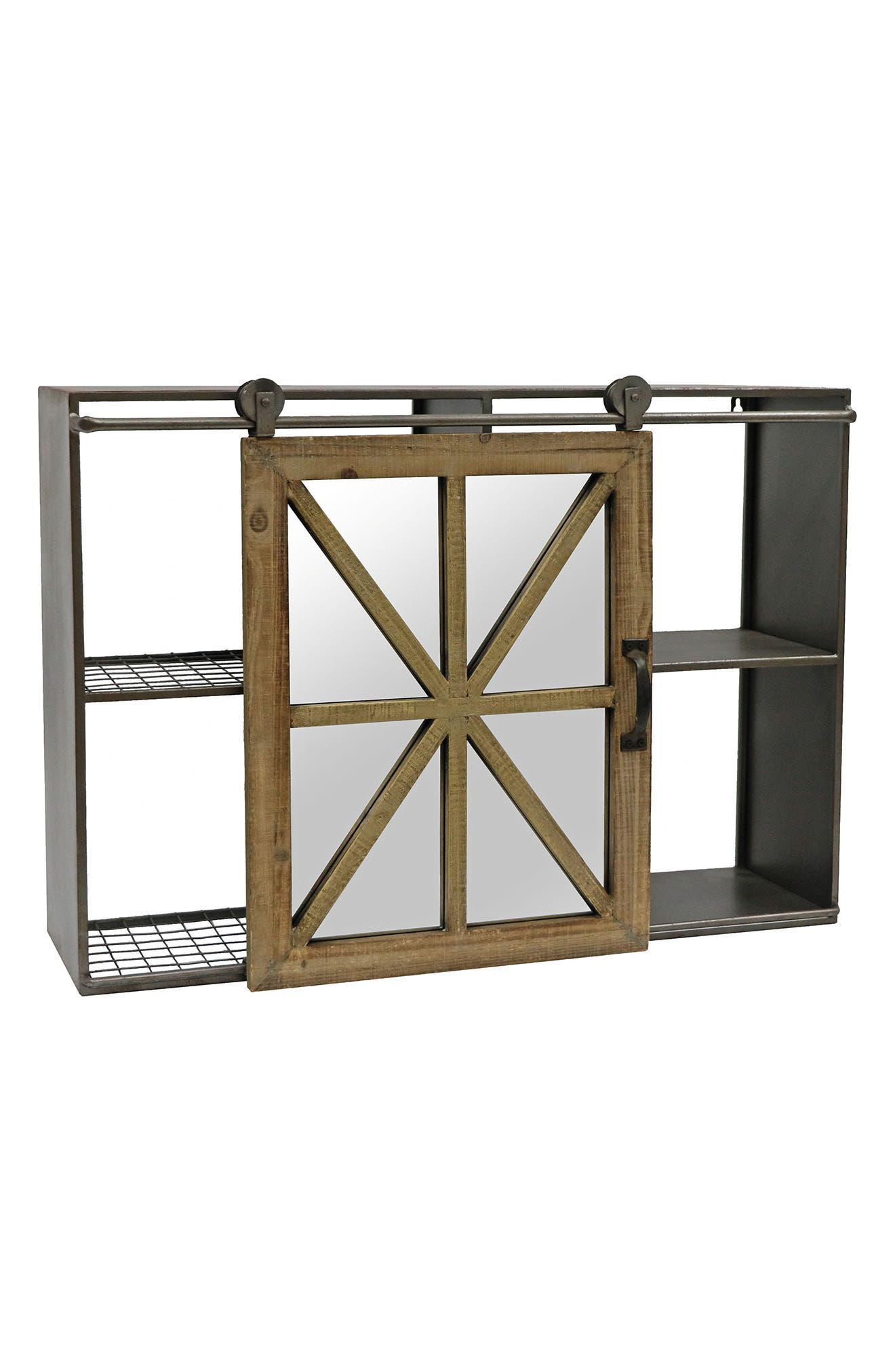 Main Image - Foreside Barn Door Wall Shelf