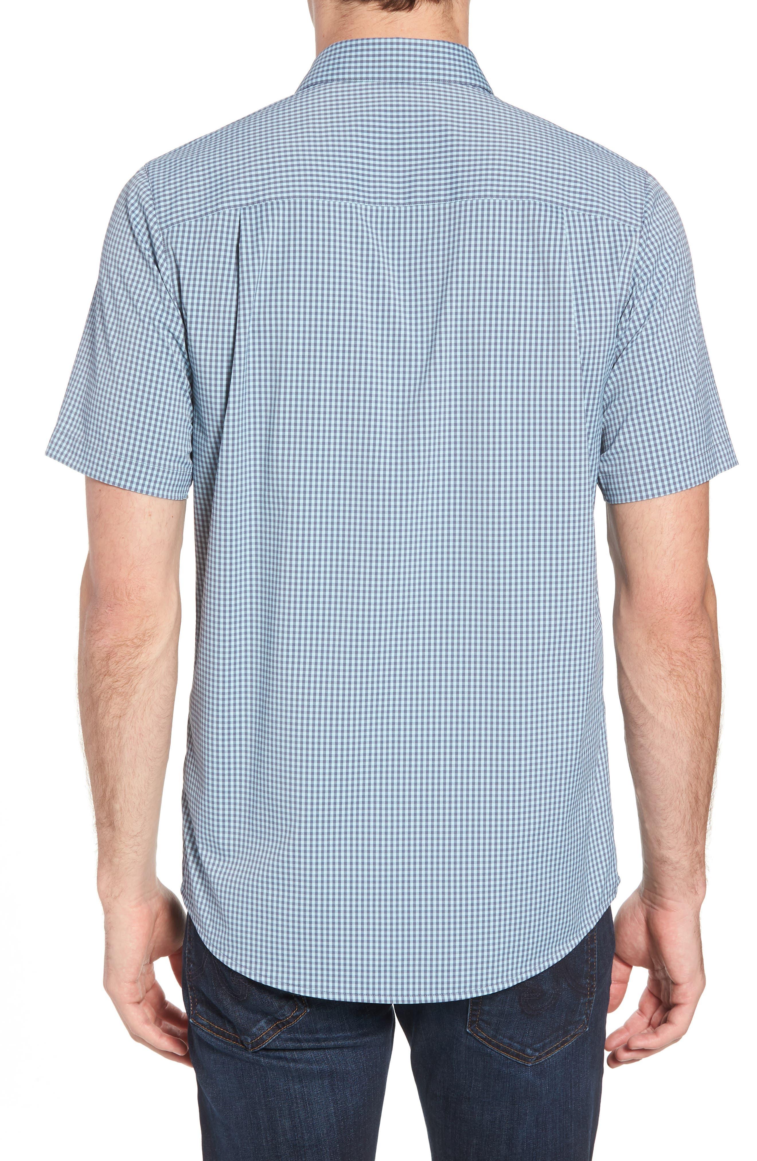Gygax Regular Fit Sport Shirt,                             Alternate thumbnail 3, color,                             Porcelain Blue