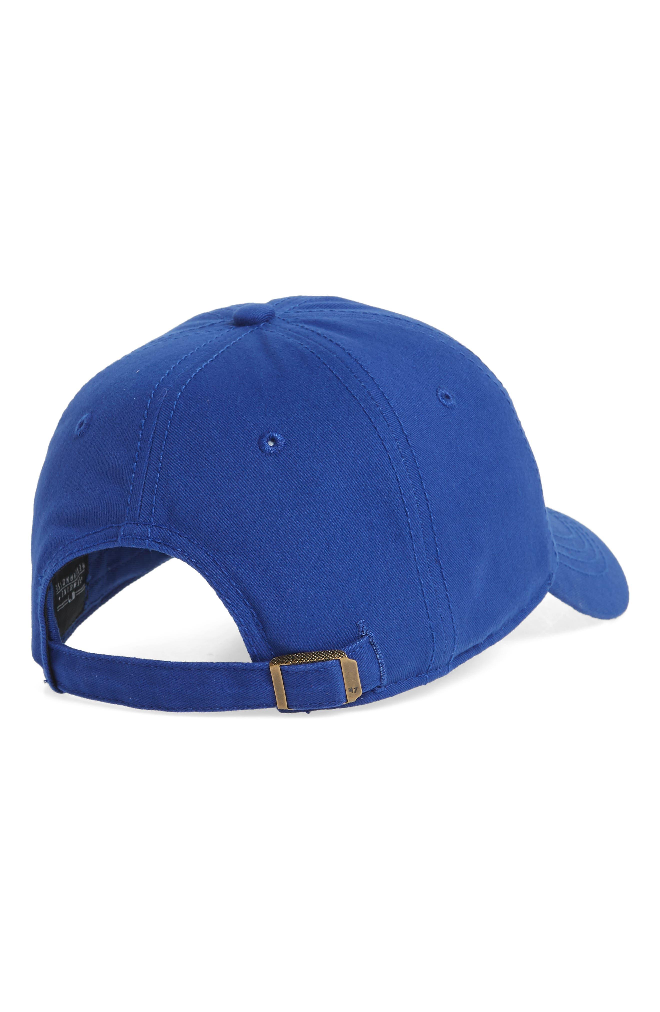 Miata Clean-Up Texas Rangers Baseball Cap,                             Alternate thumbnail 2, color,                             Royal