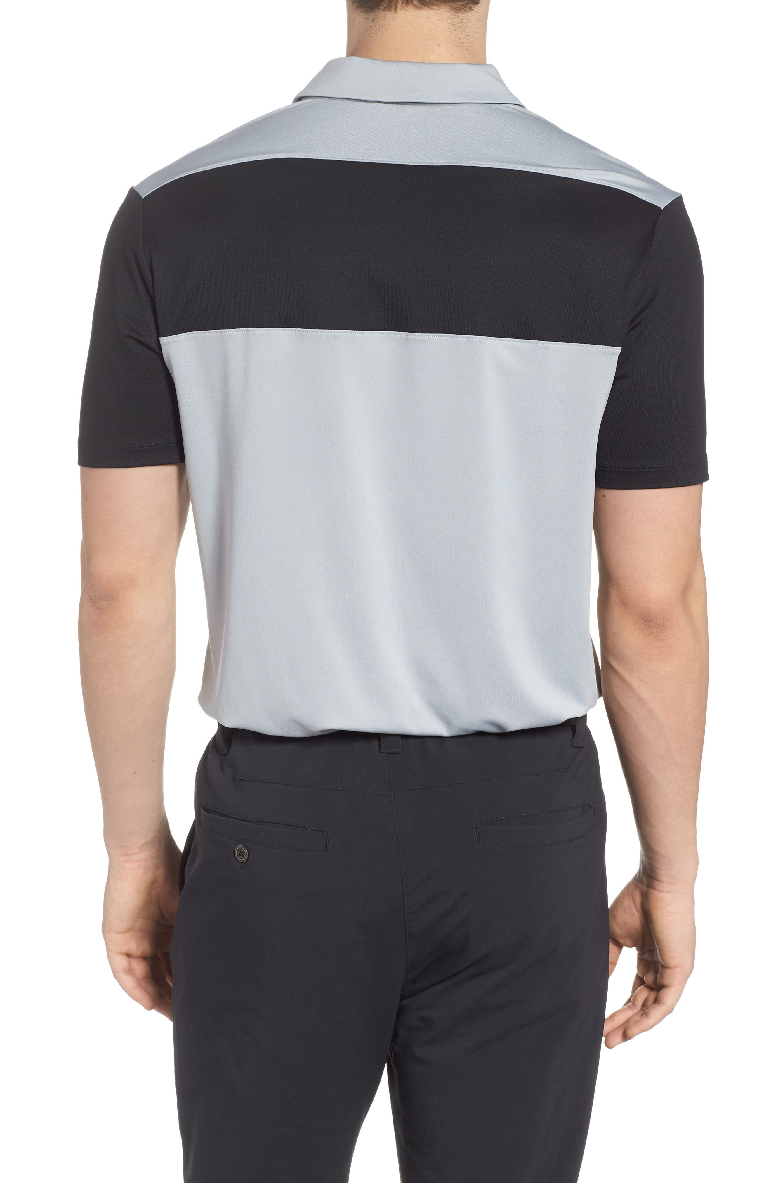 Golf Dry Color Polo,                             Alternate thumbnail 2, color,                             Wolf Grey/ Black/ Cool Grey