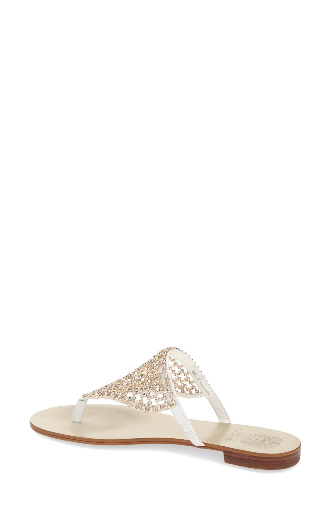 Alternate Image 2  - Vince Camuto 'Mombo' Embellished Thong Sandal (Women)