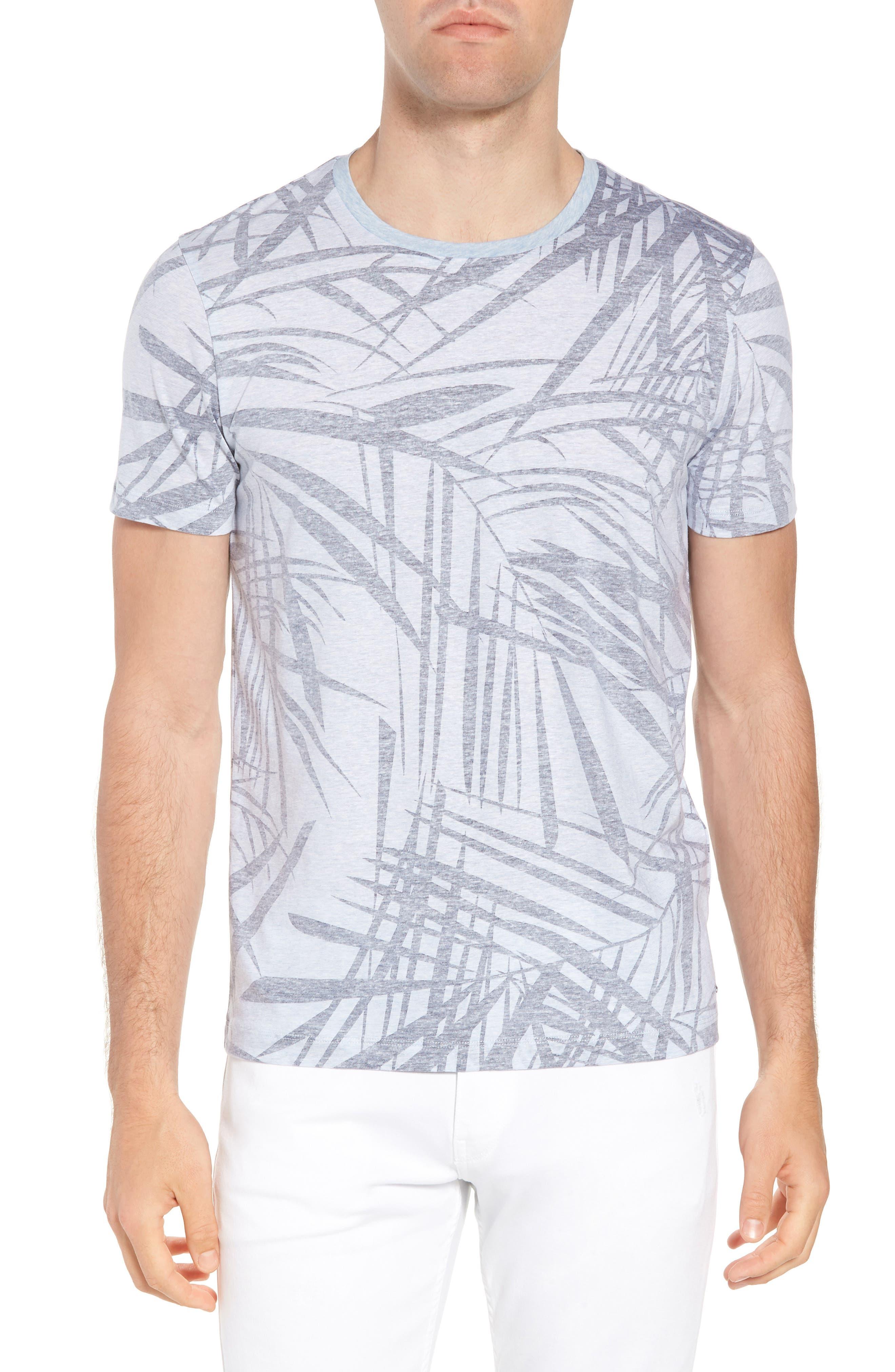 Tessler Crewneck T-Shirt,                         Main,                         color, Blue