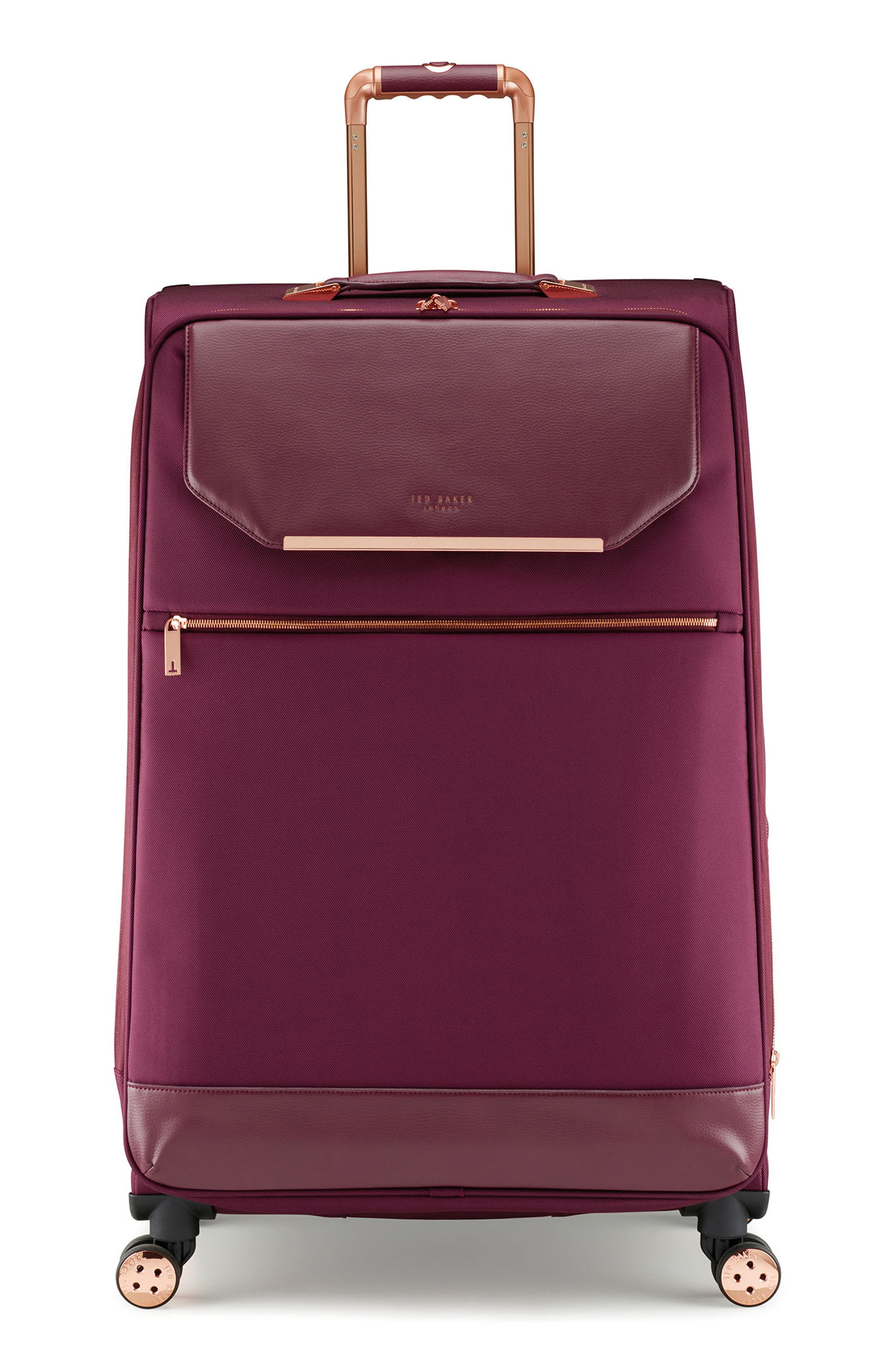 33-Inch Spinner Trolley Packing Case,                             Main thumbnail 1, color,                             Burgundy