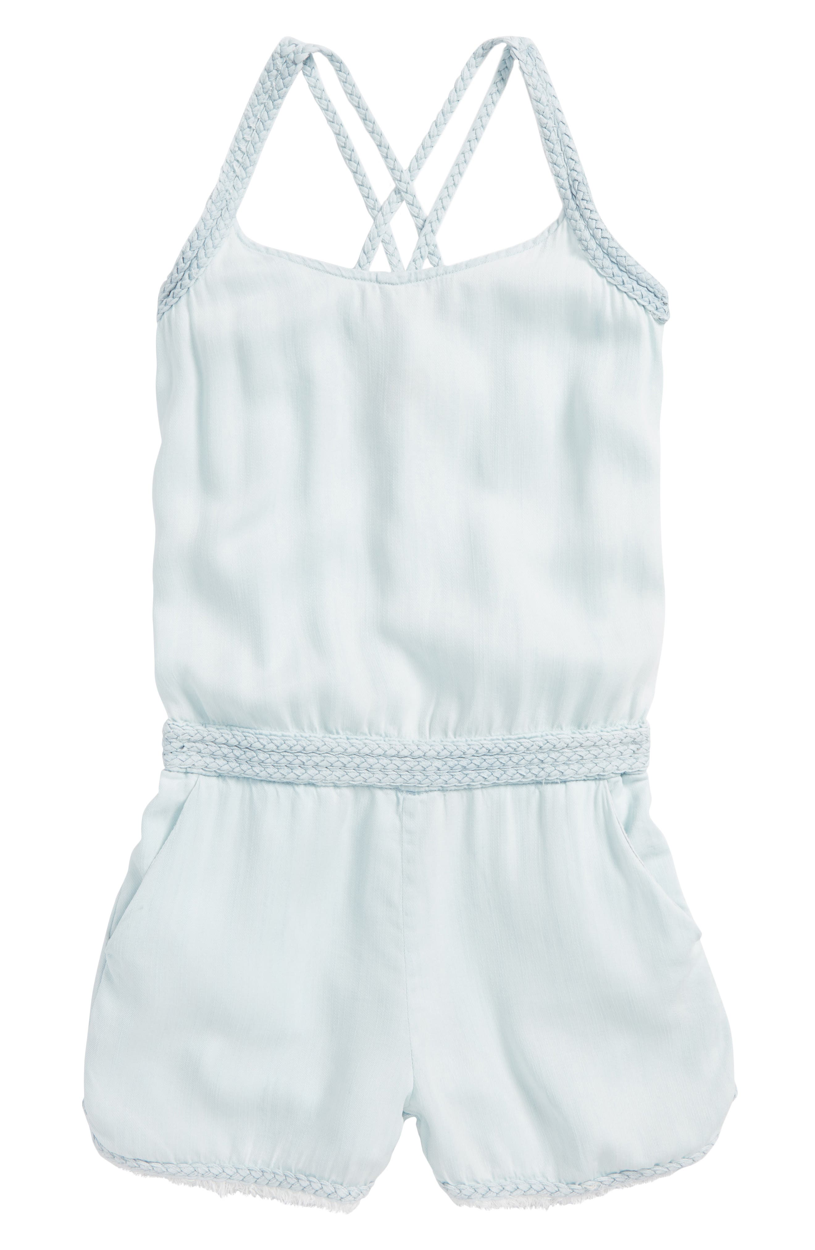 Tractr Overall Romper (Big Girls)