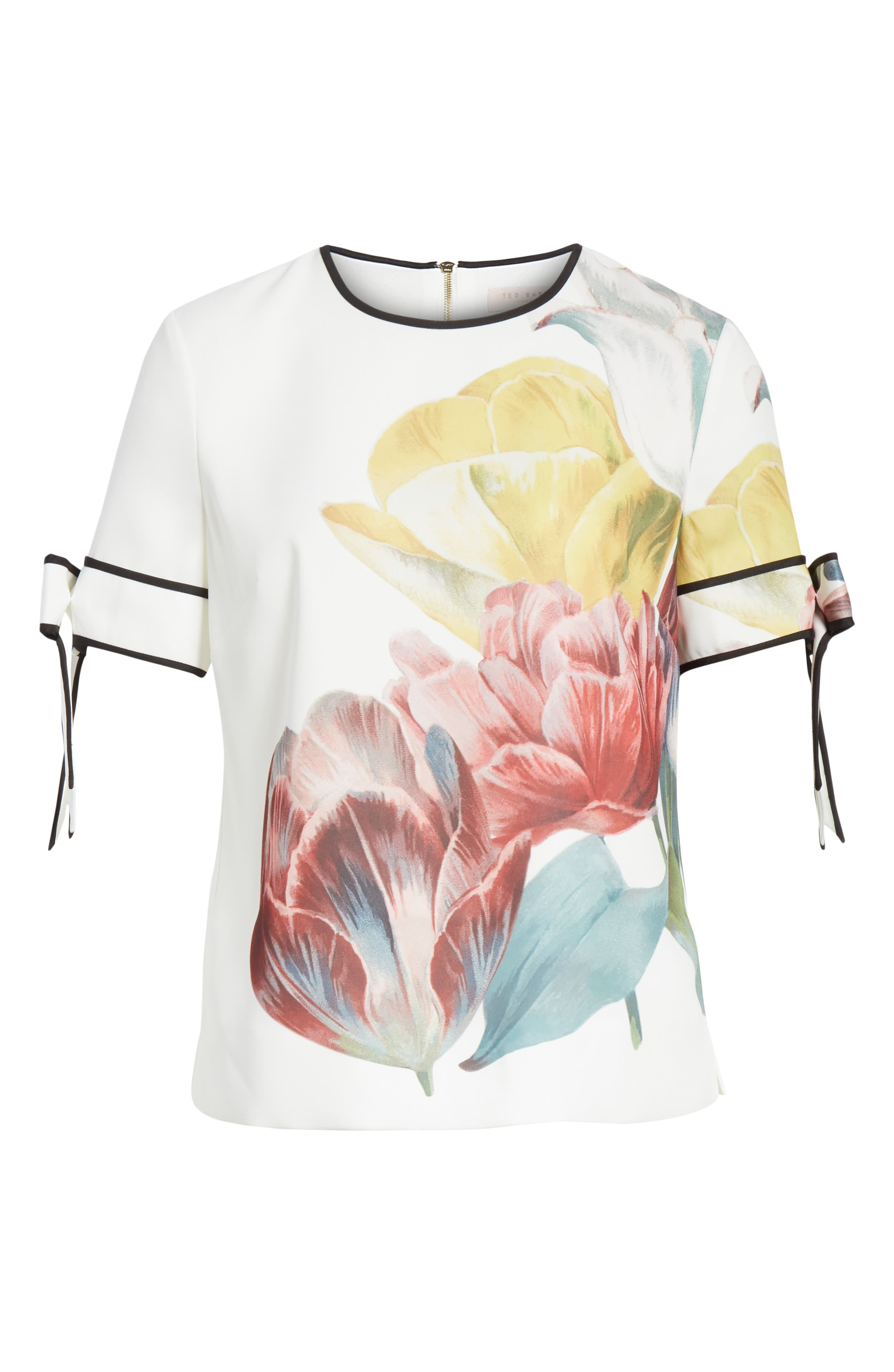 Alternate Image 5  - Ted Baker London Pollie Tranquility Top