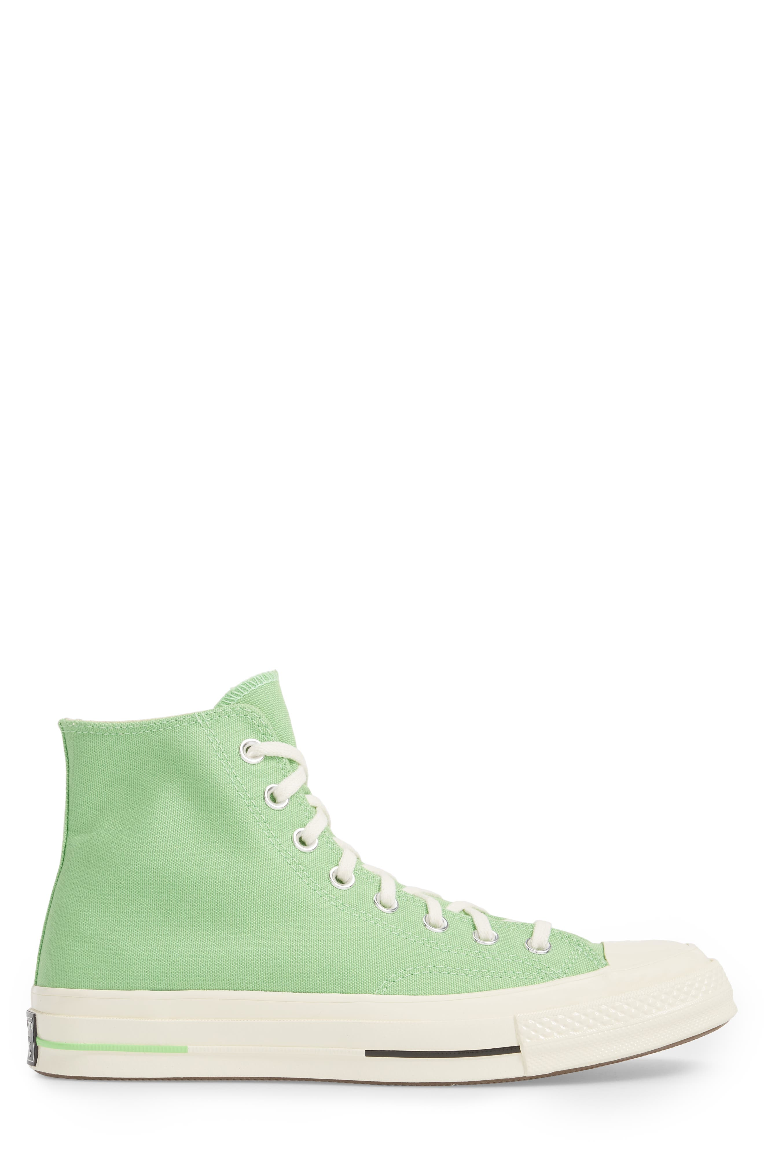 Chuck Taylor<sup>®</sup> All Star<sup>®</sup> 70 Brights High Top Sneaker,                             Alternate thumbnail 3, color,                             Illusion Green