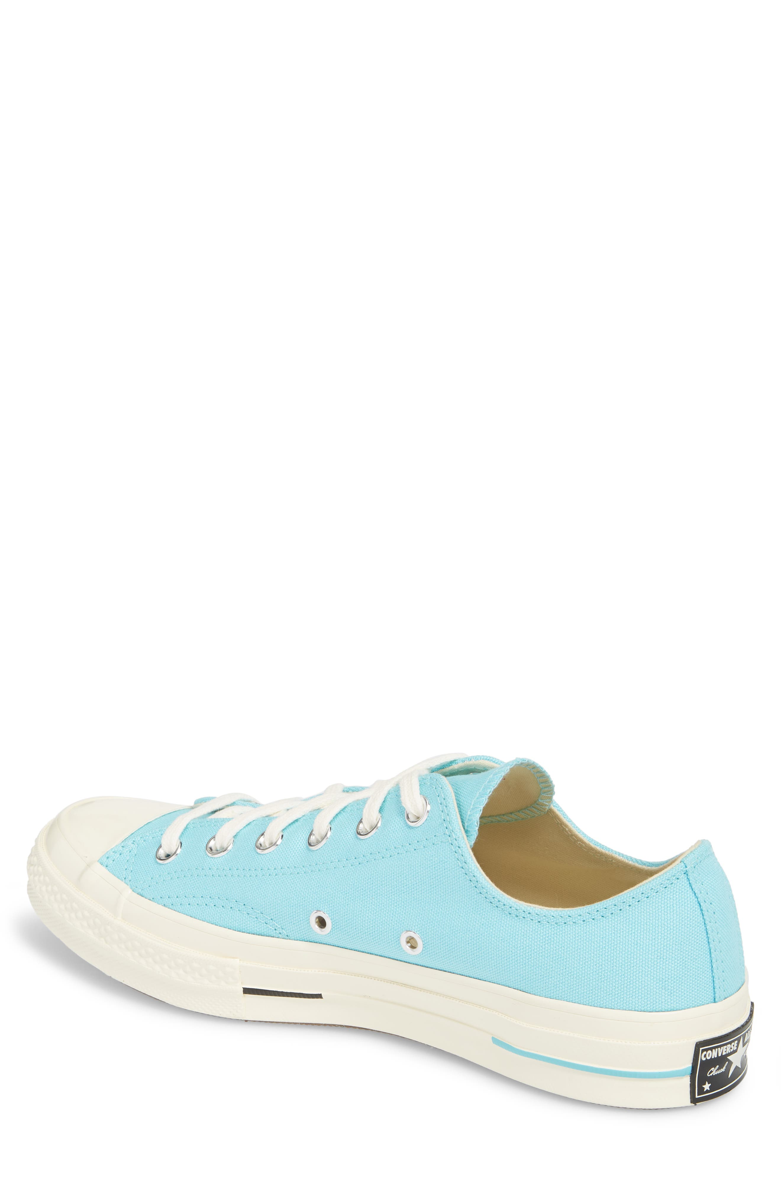 Chuck Taylor<sup>®</sup> All Star<sup>®</sup> 70 Brights Low Top Sneaker,                             Alternate thumbnail 2, color,                             Beached Aqua