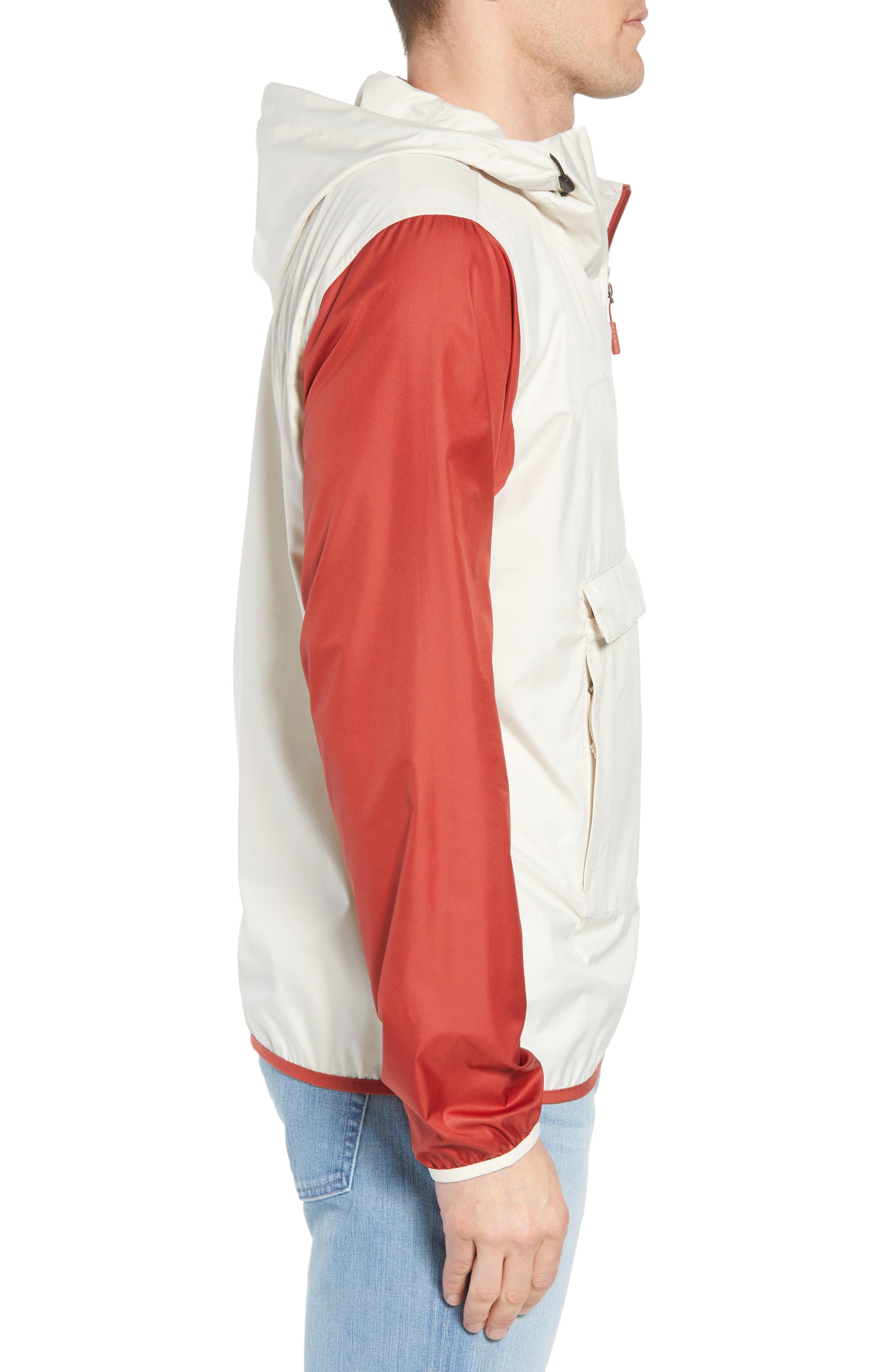 Fanorak Pullover,                             Alternate thumbnail 3, color,                             Vintage White Multi
