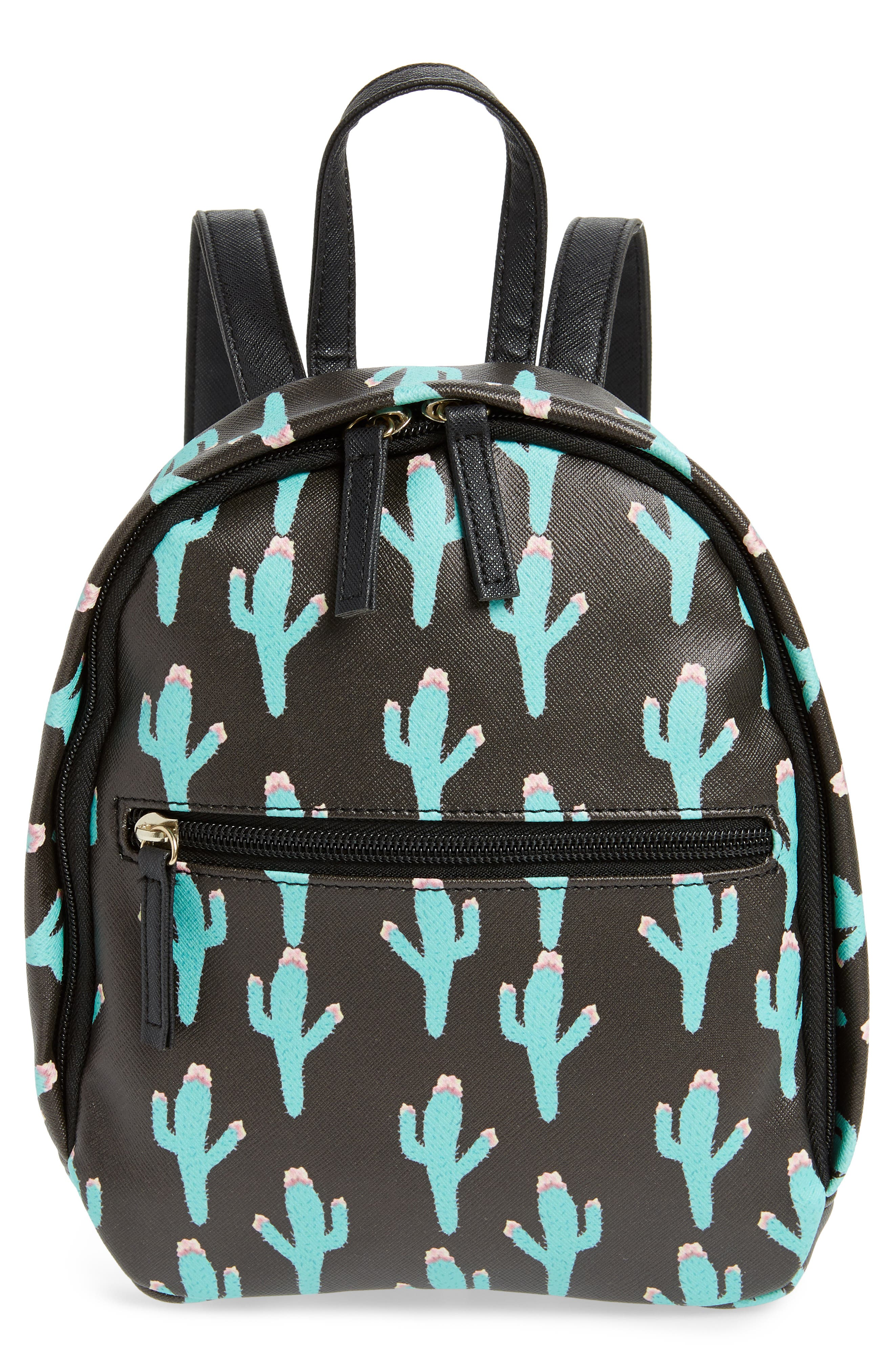 Deb & Dave Accessories Cactus Print Mini Backpack (Kids)