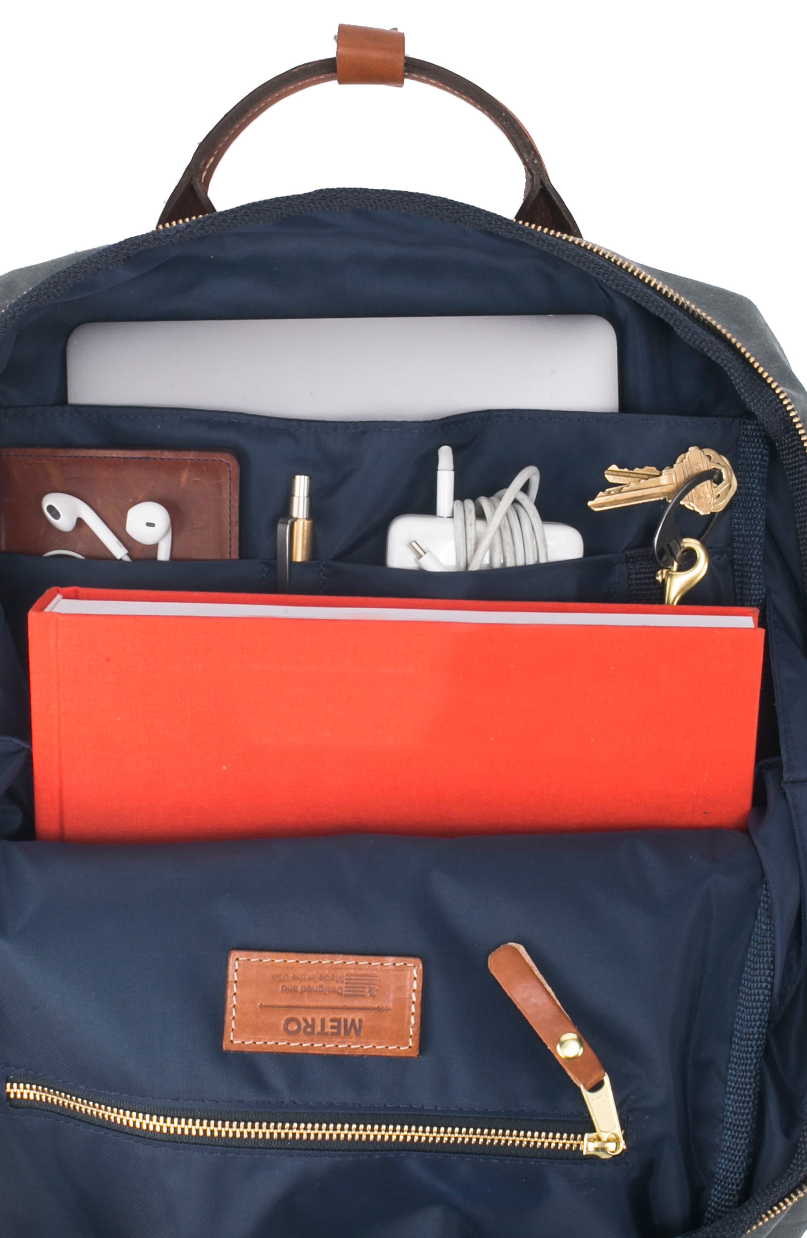 Metro Backpack,                             Alternate thumbnail 4, color,                             Charcoal