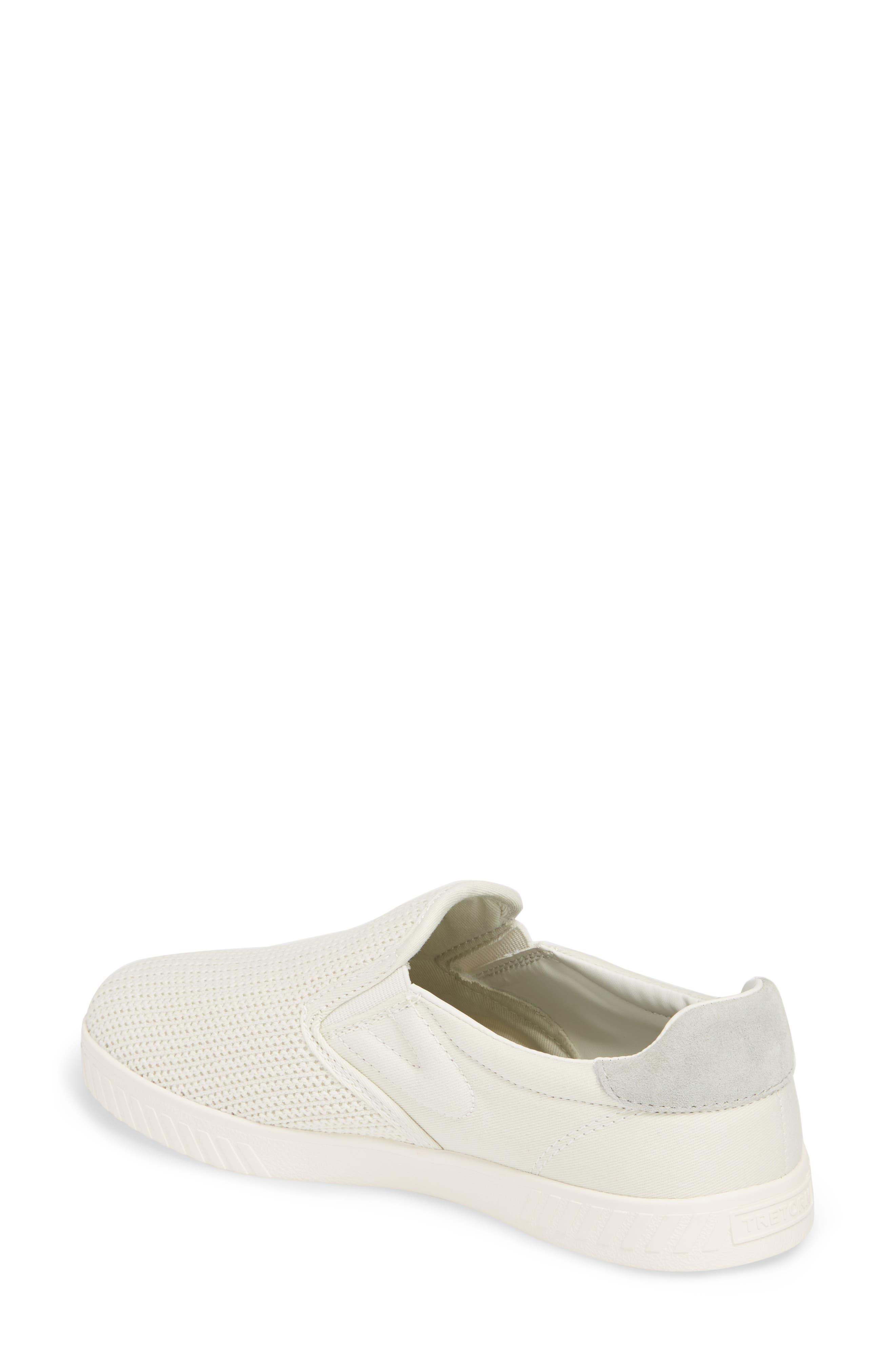 Cruz Mesh Slip-On Sneaker,                             Alternate thumbnail 2, color,                             Vintage White