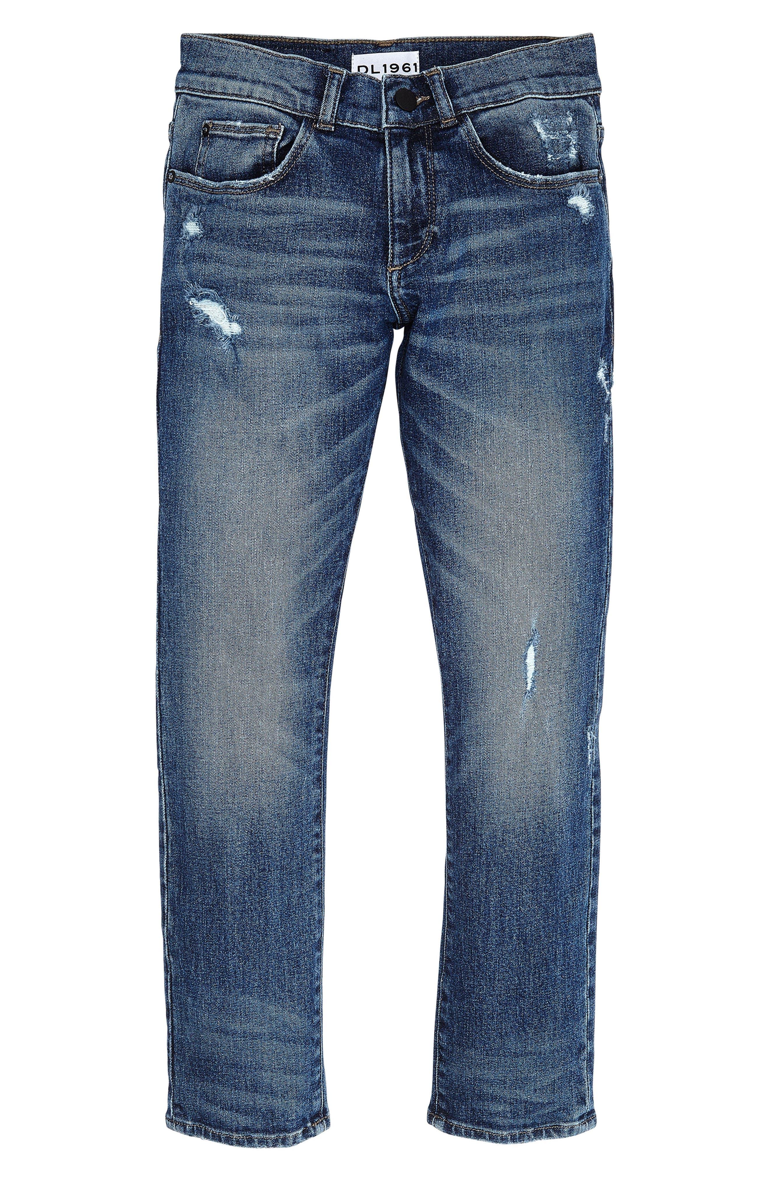 DL1961 Brady Slim Straight Leg Jeans (Big Boys)