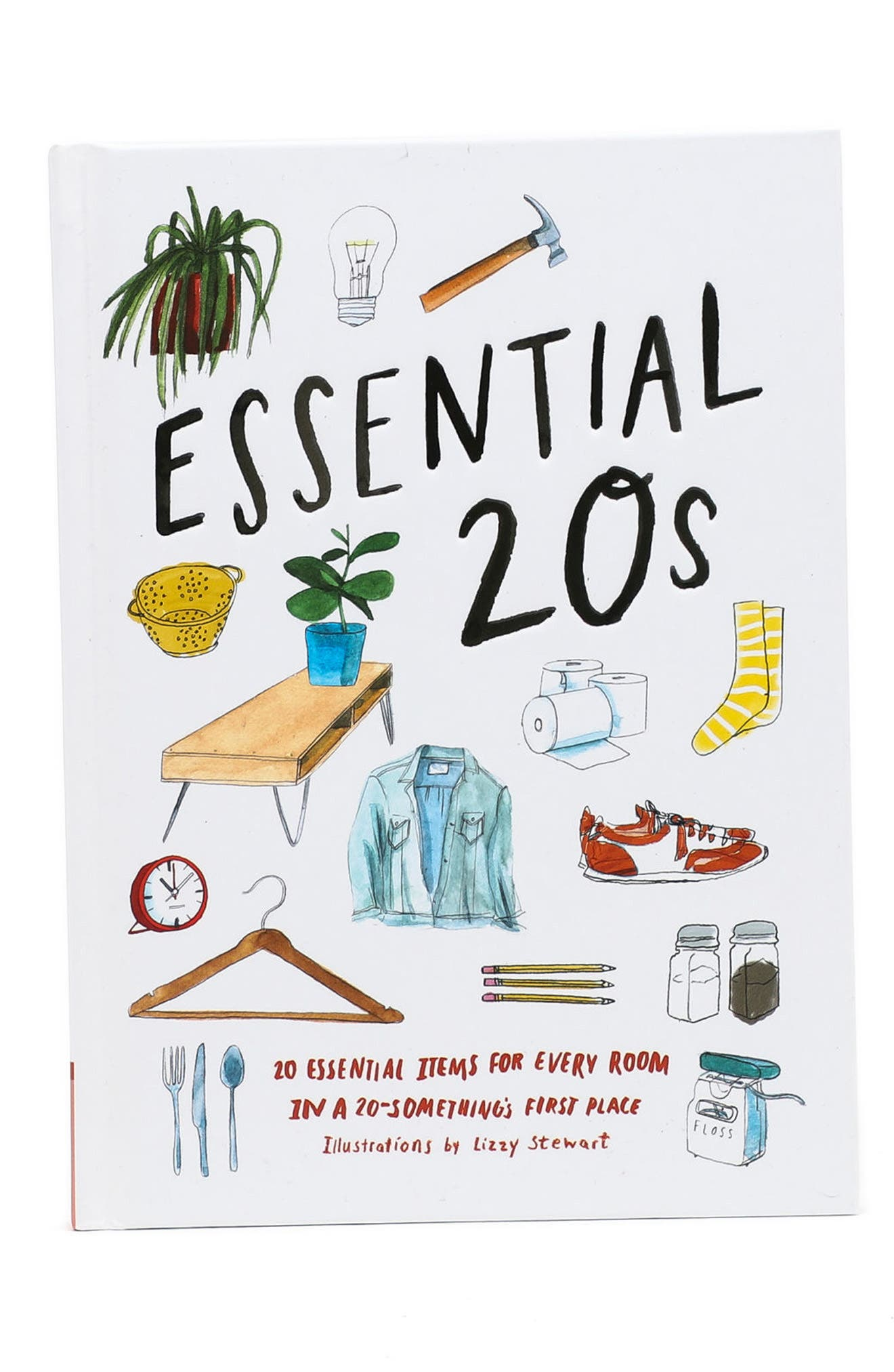 Essential 20s Book,                             Main thumbnail 1, color,                             White Multi