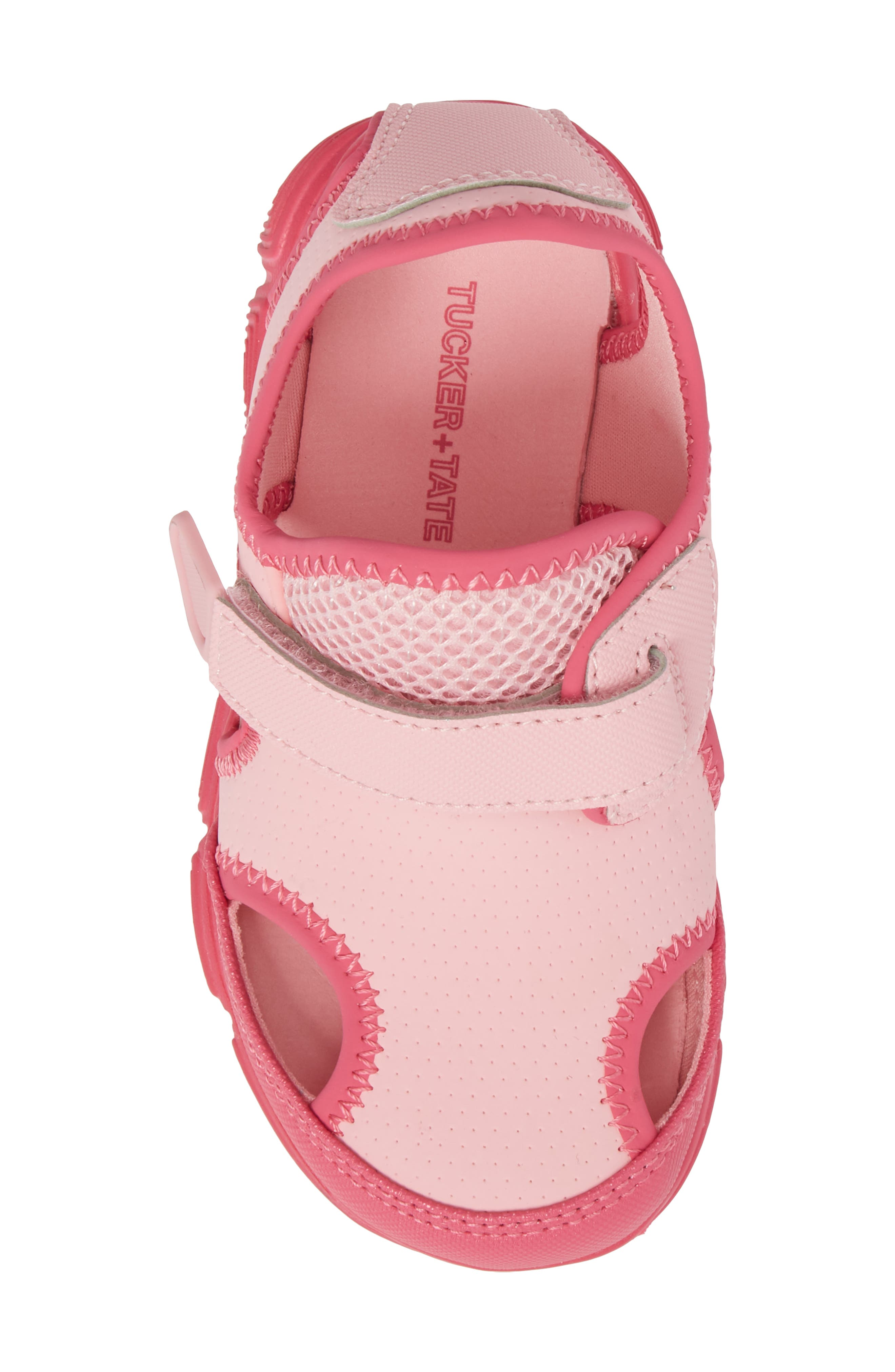 Sophie Water Sandal,                             Alternate thumbnail 5, color,                             Pink/ Dark Pink