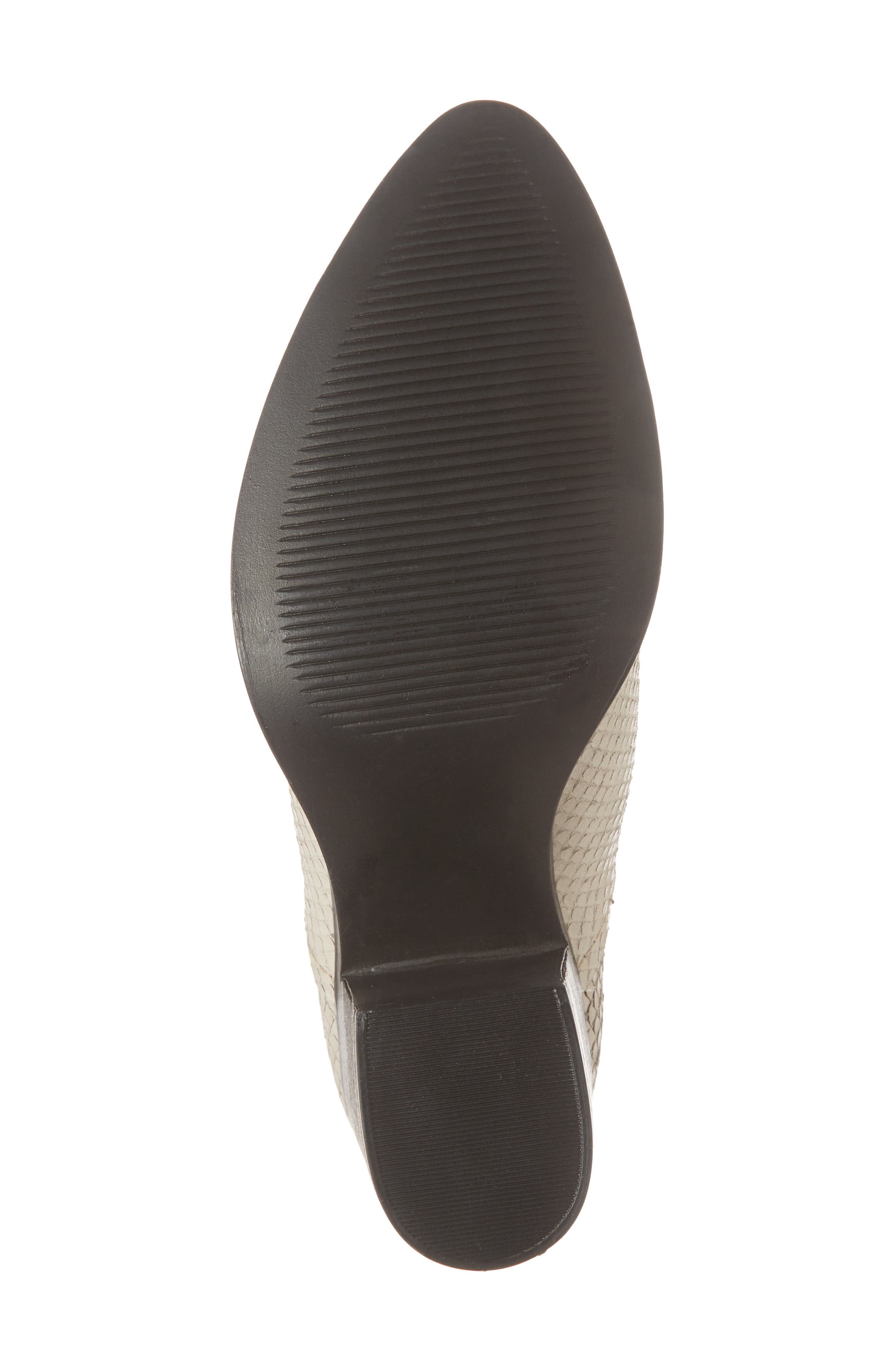 Petra Open Side Bootie,                             Alternate thumbnail 6, color,                             White Snake Print