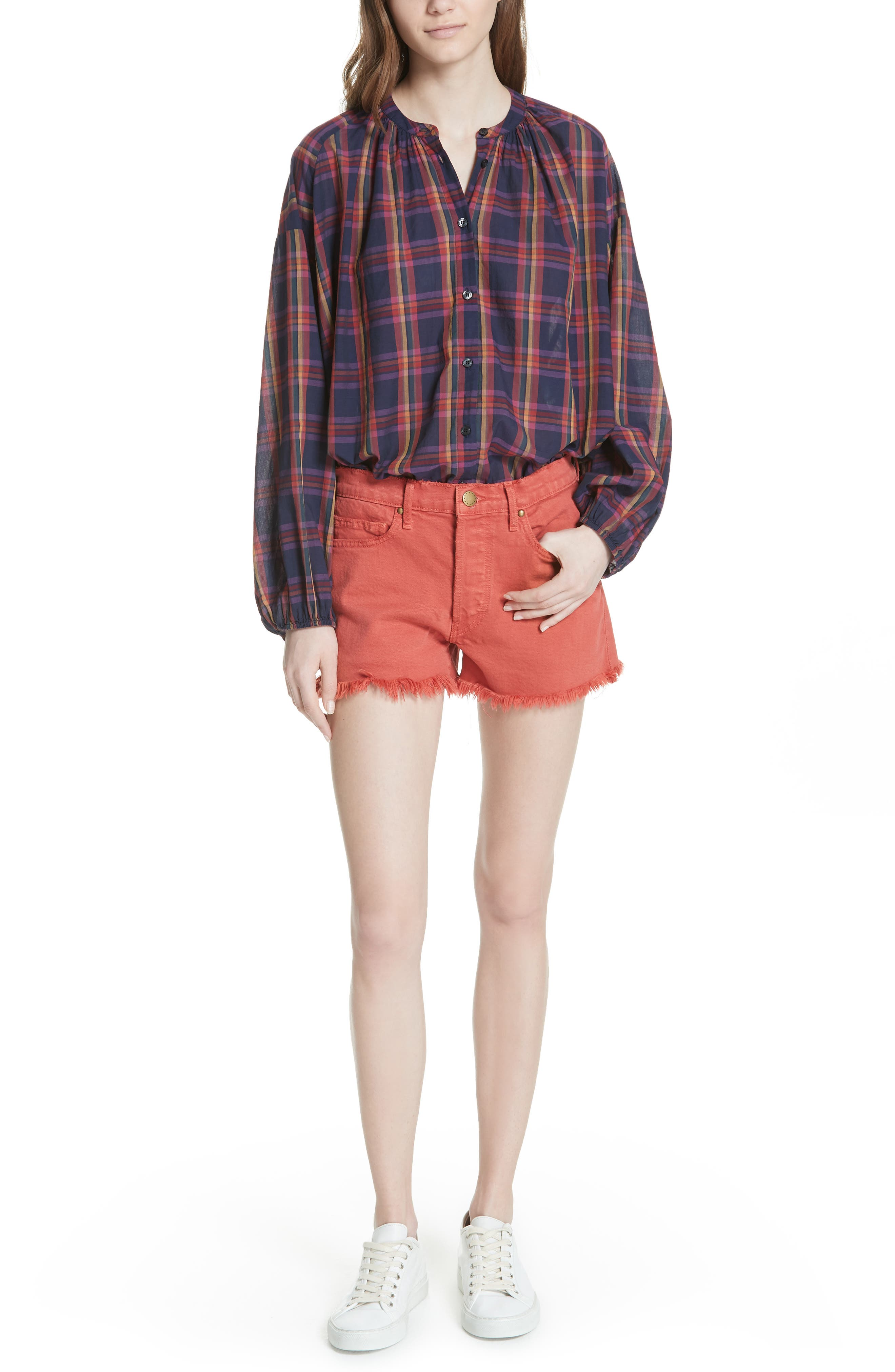 The Cut Off Shorts,                             Alternate thumbnail 6, color,                             Vintage Poppy Wash