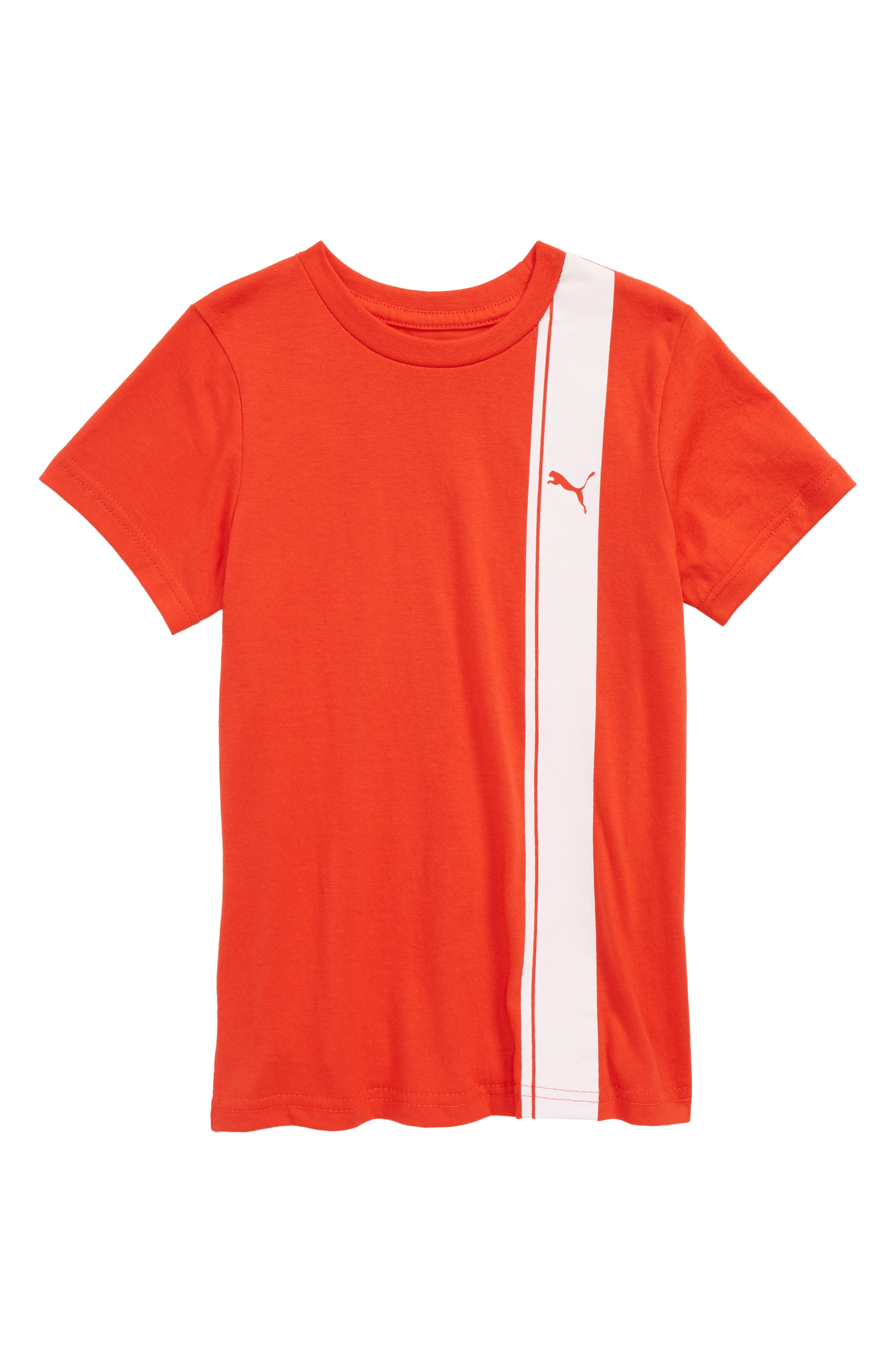 Logo T-Shirt,                         Main,                         color, Flame Scarlet