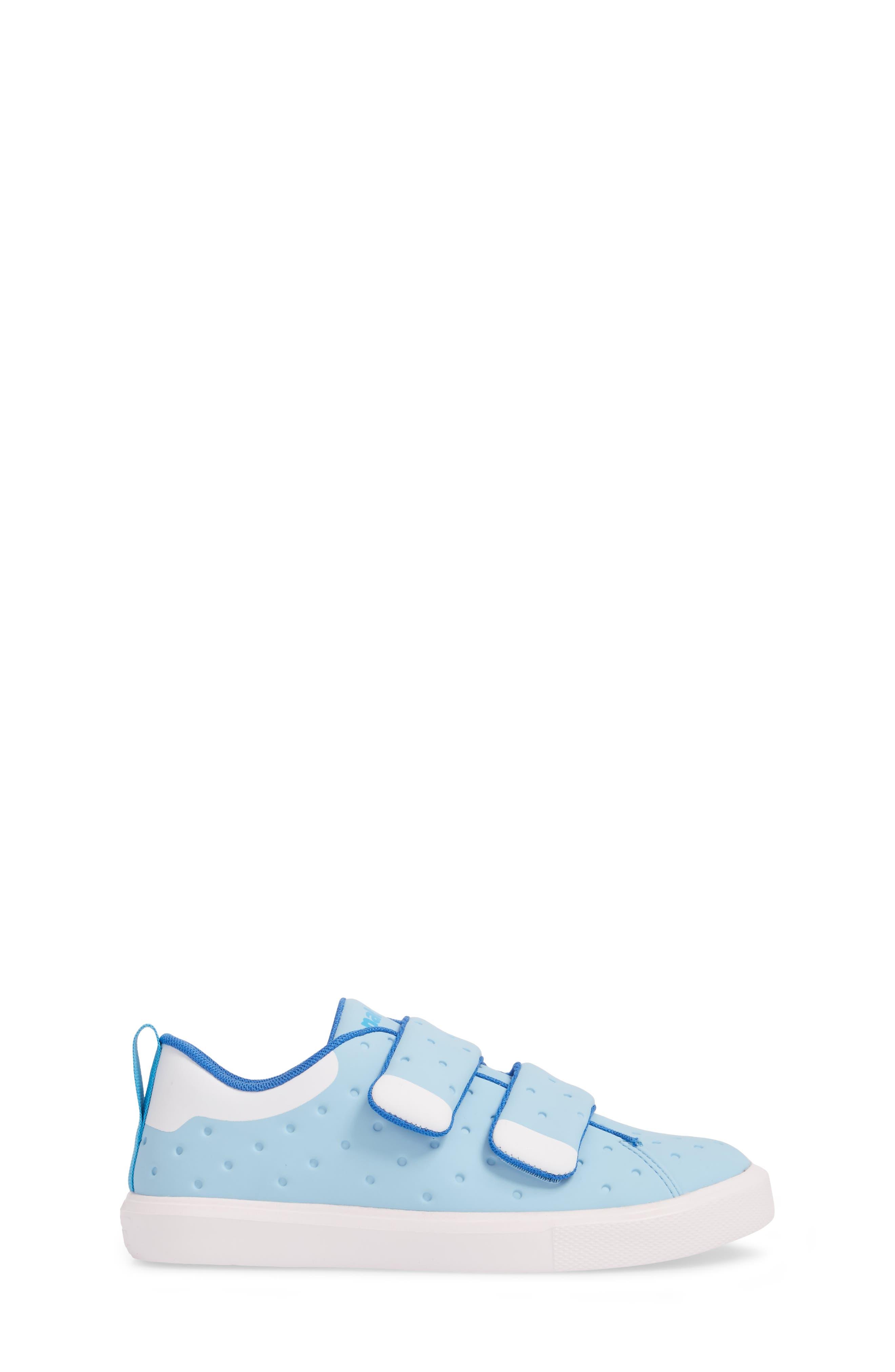 Monaco Sneaker,                             Alternate thumbnail 3, color,                             Sky Blue/ Shell White
